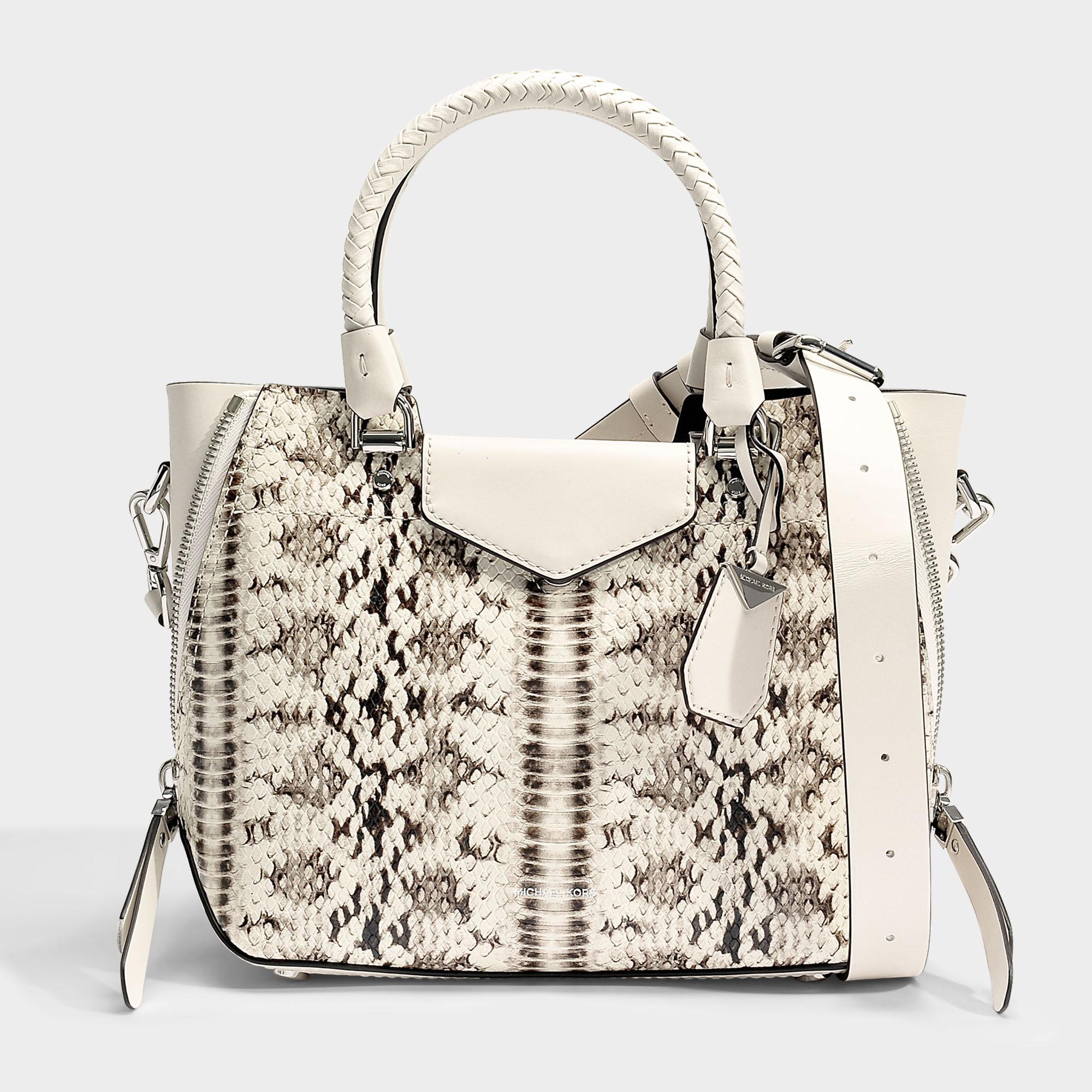 1fd377c46e91 ... Lyst - Michael Michael Kors Blakely Medium Messenger Bag In . ...