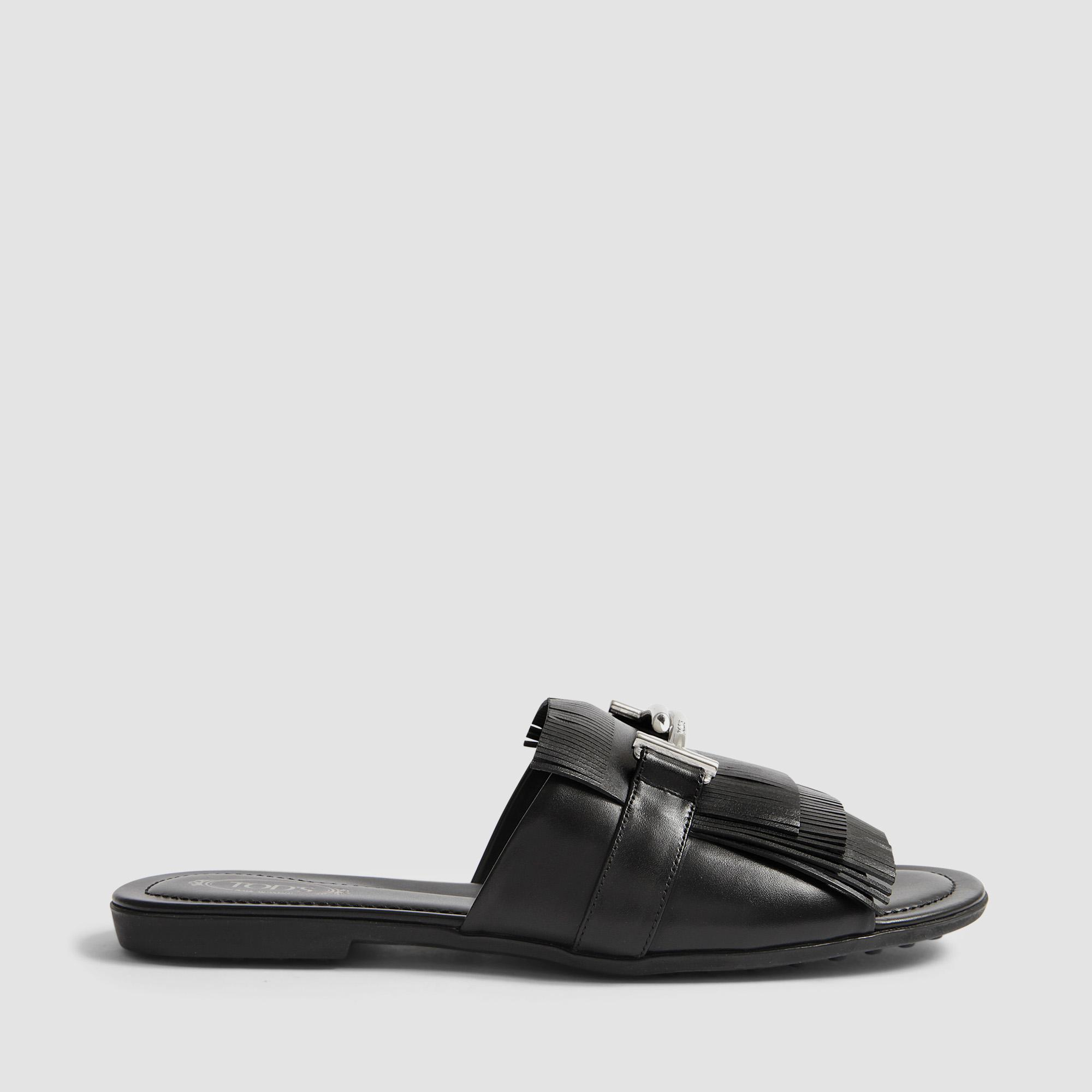 Double T flat slides Tod's Rv2K1g8