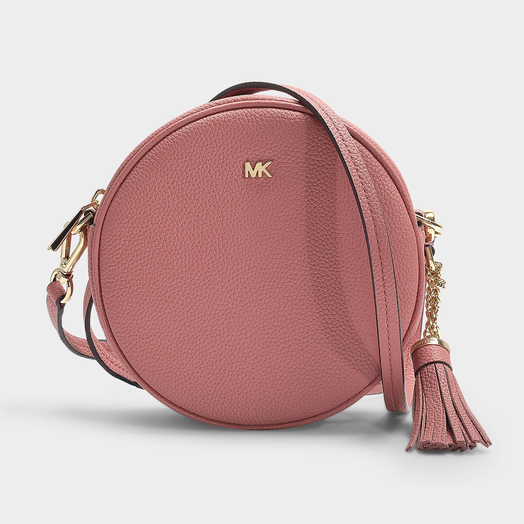 d888d124ba6f MICHAEL Michael Kors Crossbodies Medium Canteen Bag In Rose Grained ...