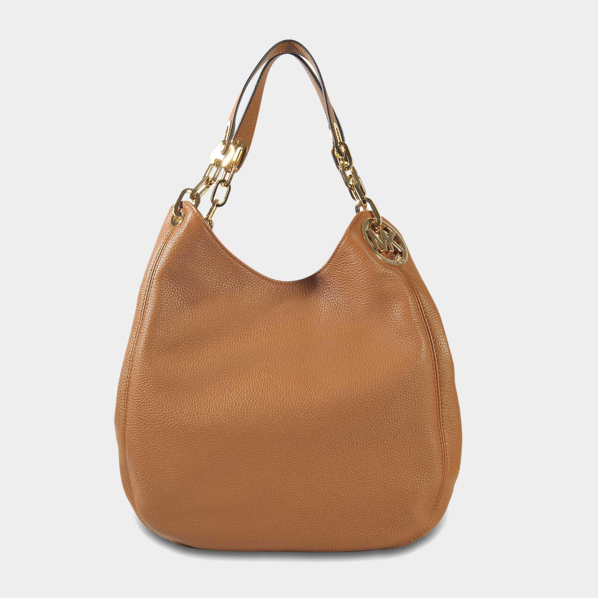 eb3397e15b46 Lyst - MICHAEL Michael Kors Fulton Large Shoulder Tote Bag In Acorn ...