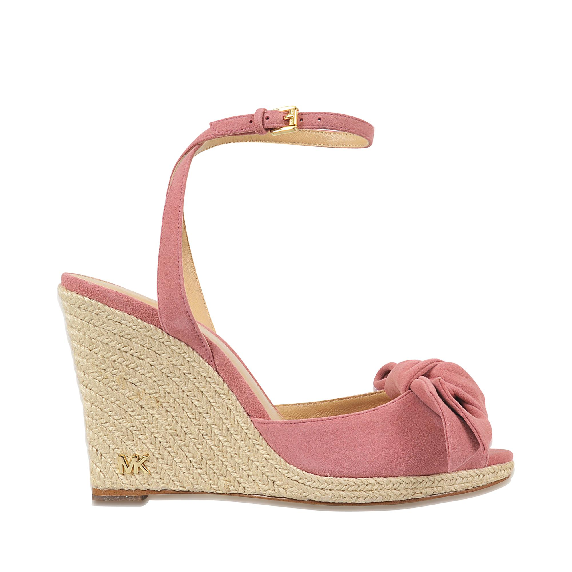 fe330cb34f1 Lyst - MICHAEL Michael Kors Willa Wedge in Pink