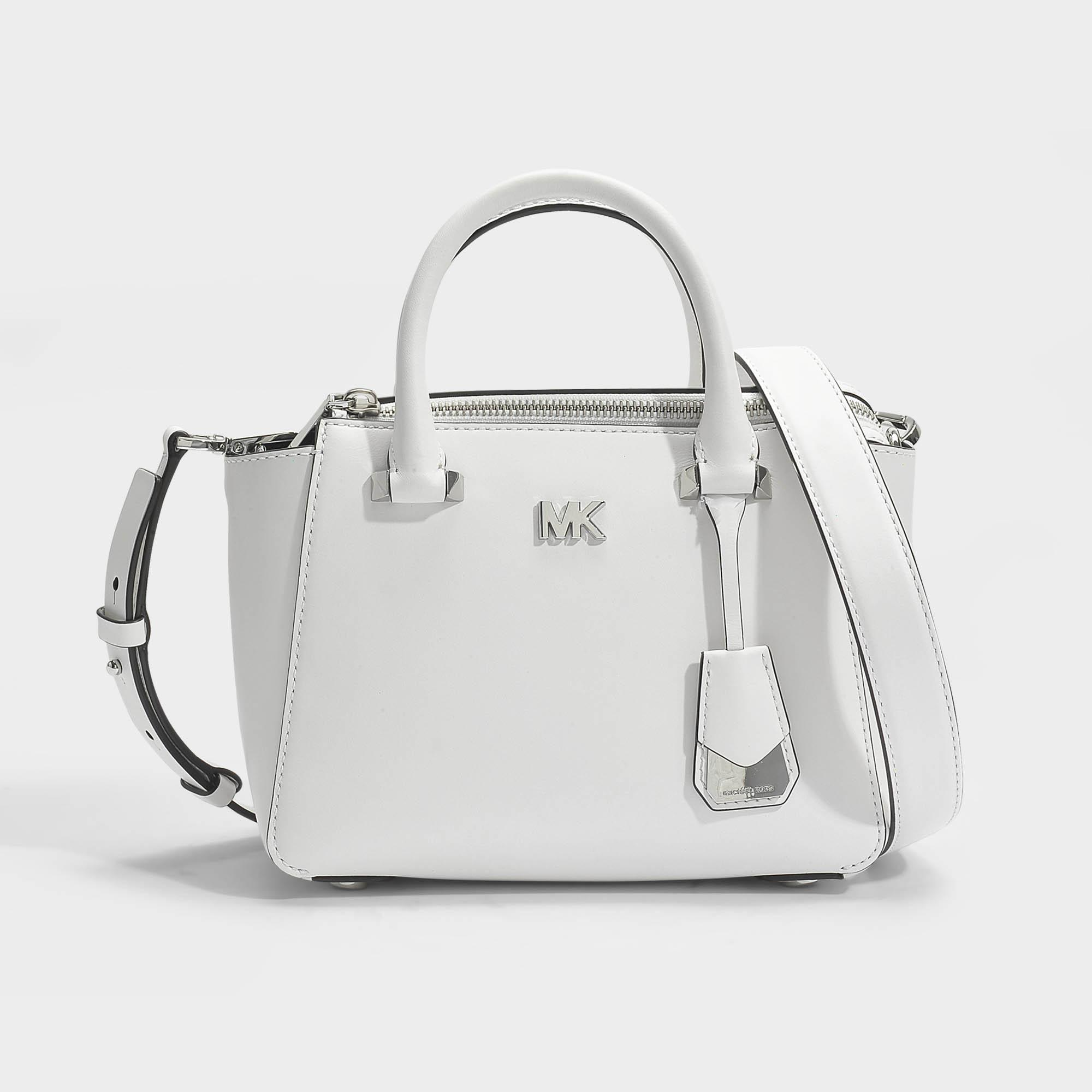bd4044f404fe MICHAEL Michael Kors Nolita Mini Messenger Bag In Optic White ...