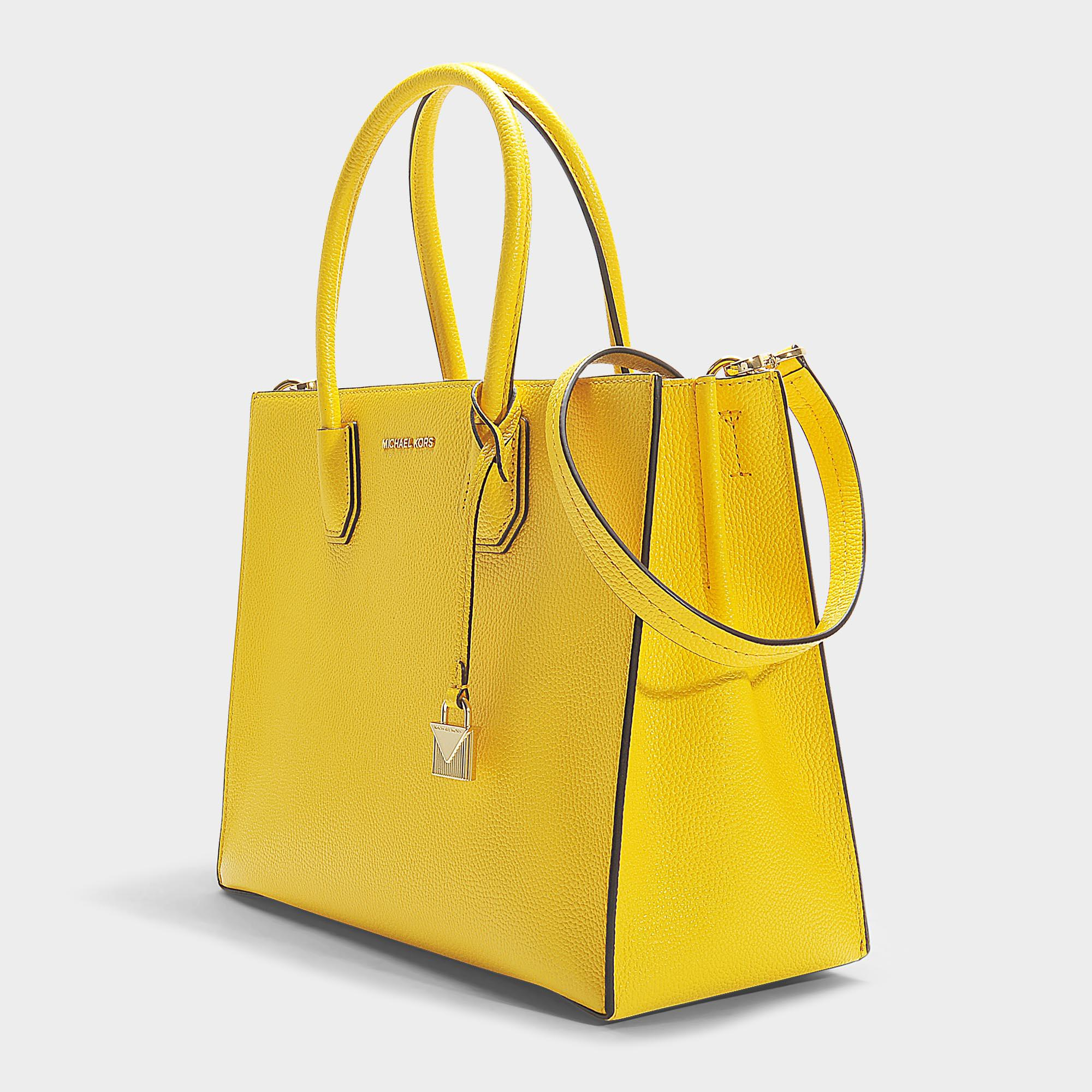410f6fa3735a MICHAEL Michael Kors Mercer Large Convertible Tote In Sunflower ...