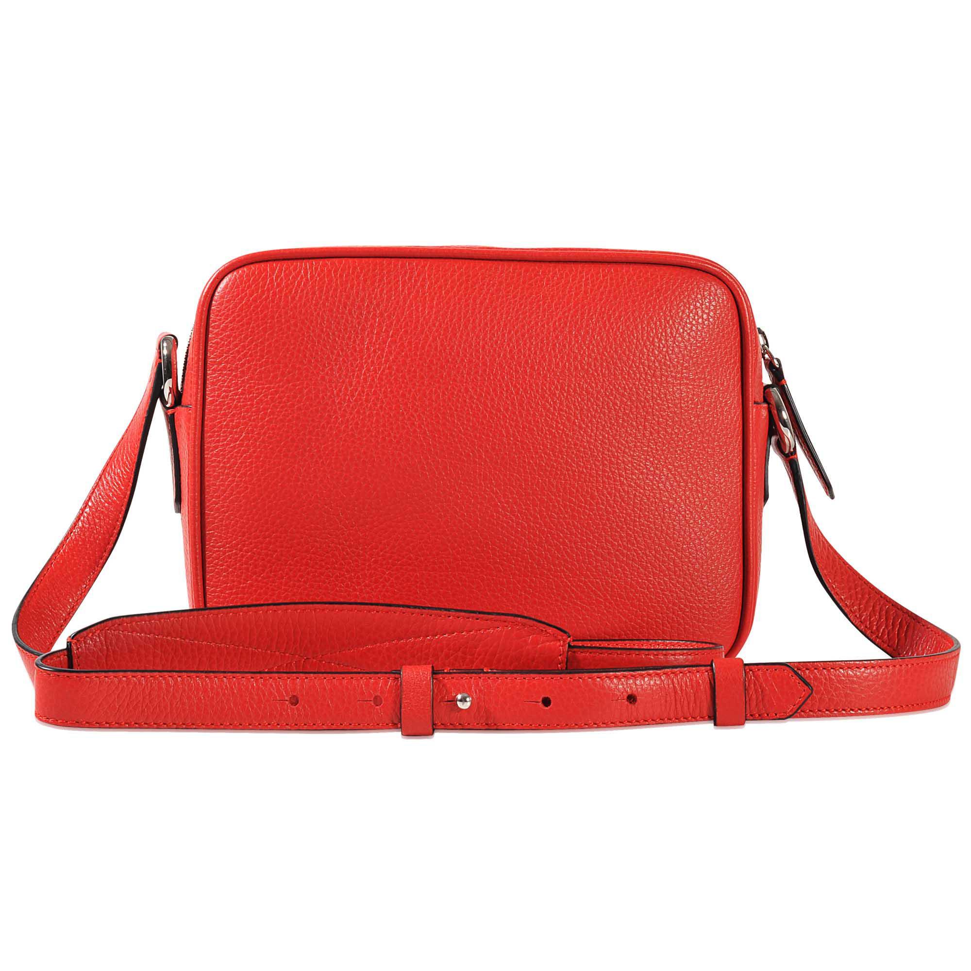 Lancel Nine Crossbody Bag in Red