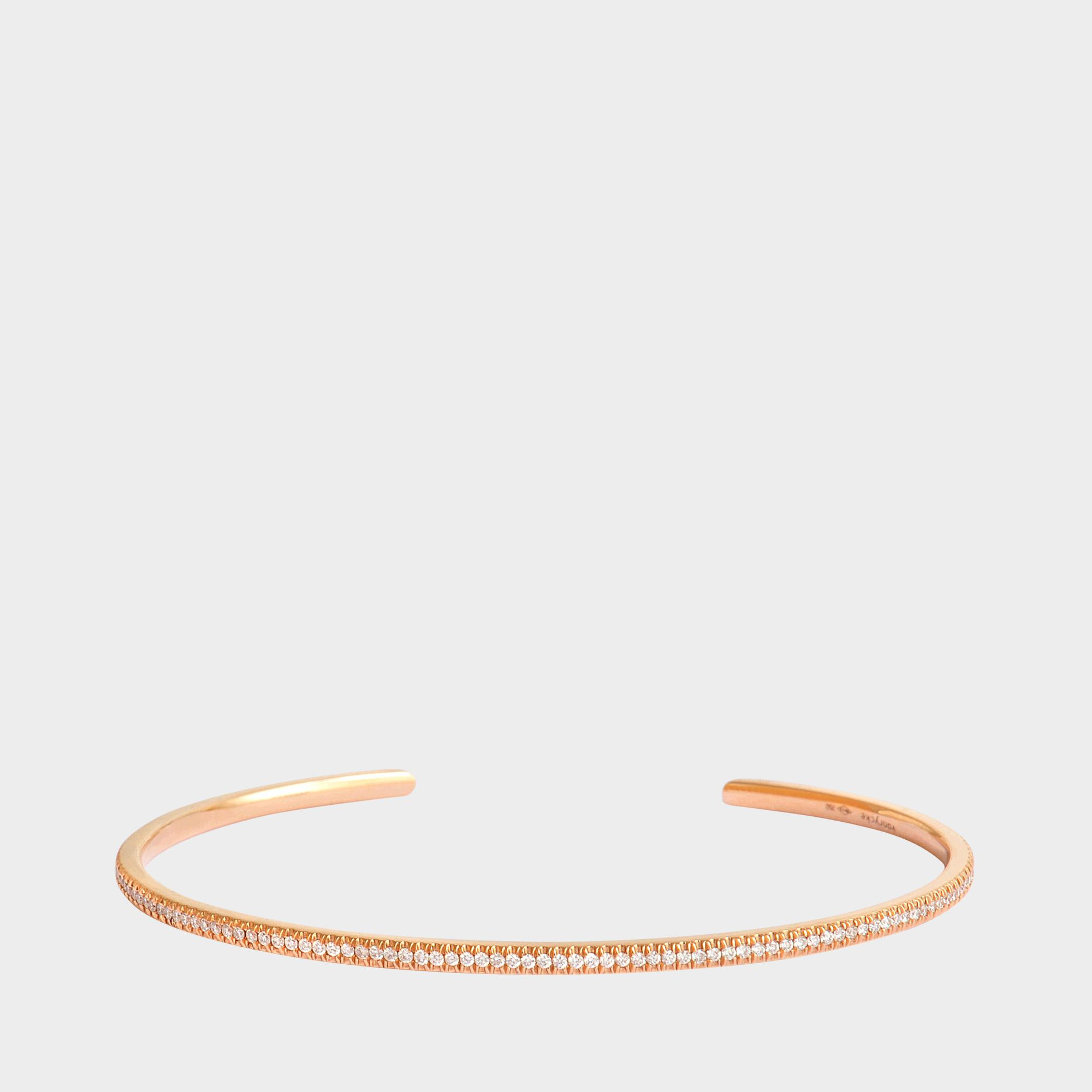 Officiel bracelet 750 gold and diamonds Vanrycke myE74Sousd