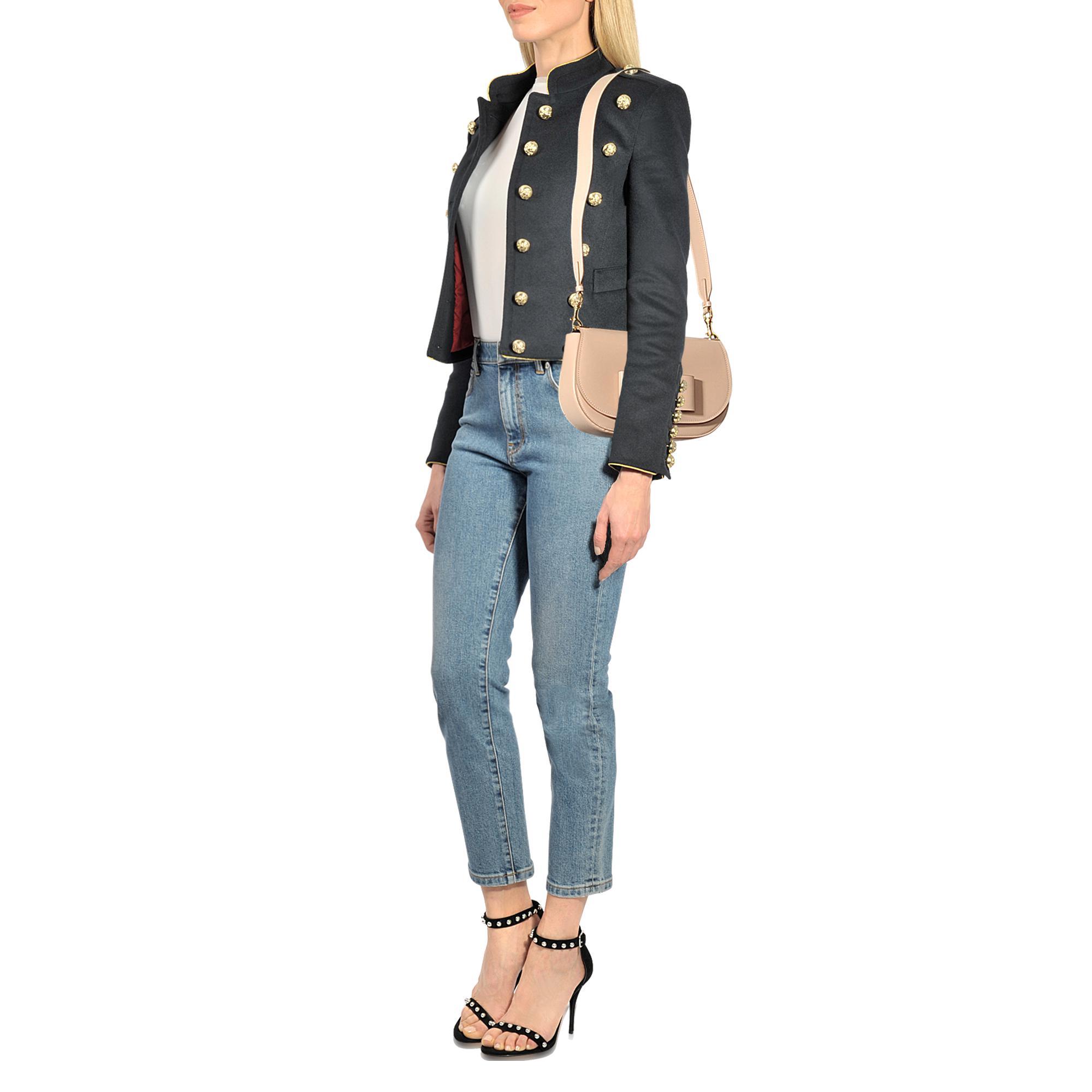 Ferragamo Leather Anna Medium Crossbody