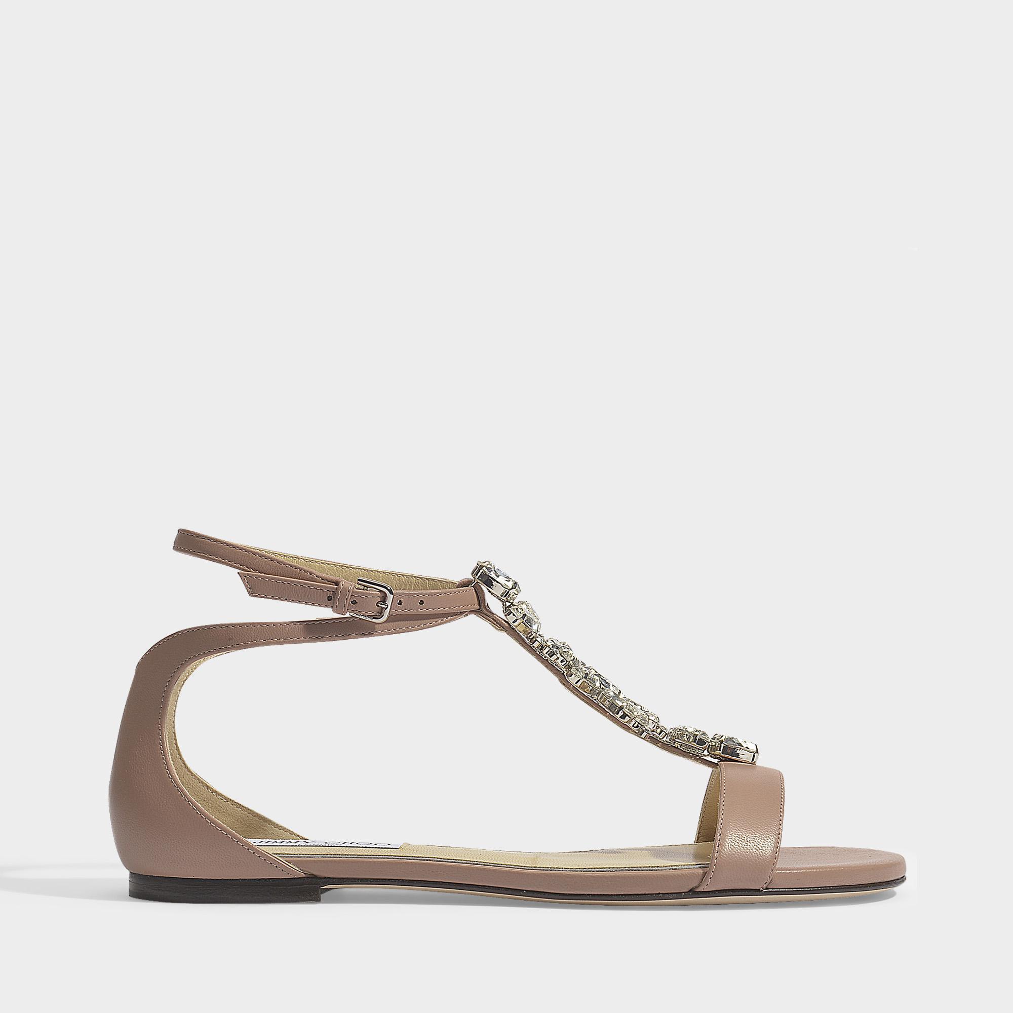 23def6f01fad03 ... top quality jimmy choo. womens averie flat sandals d8c25 9e5b9