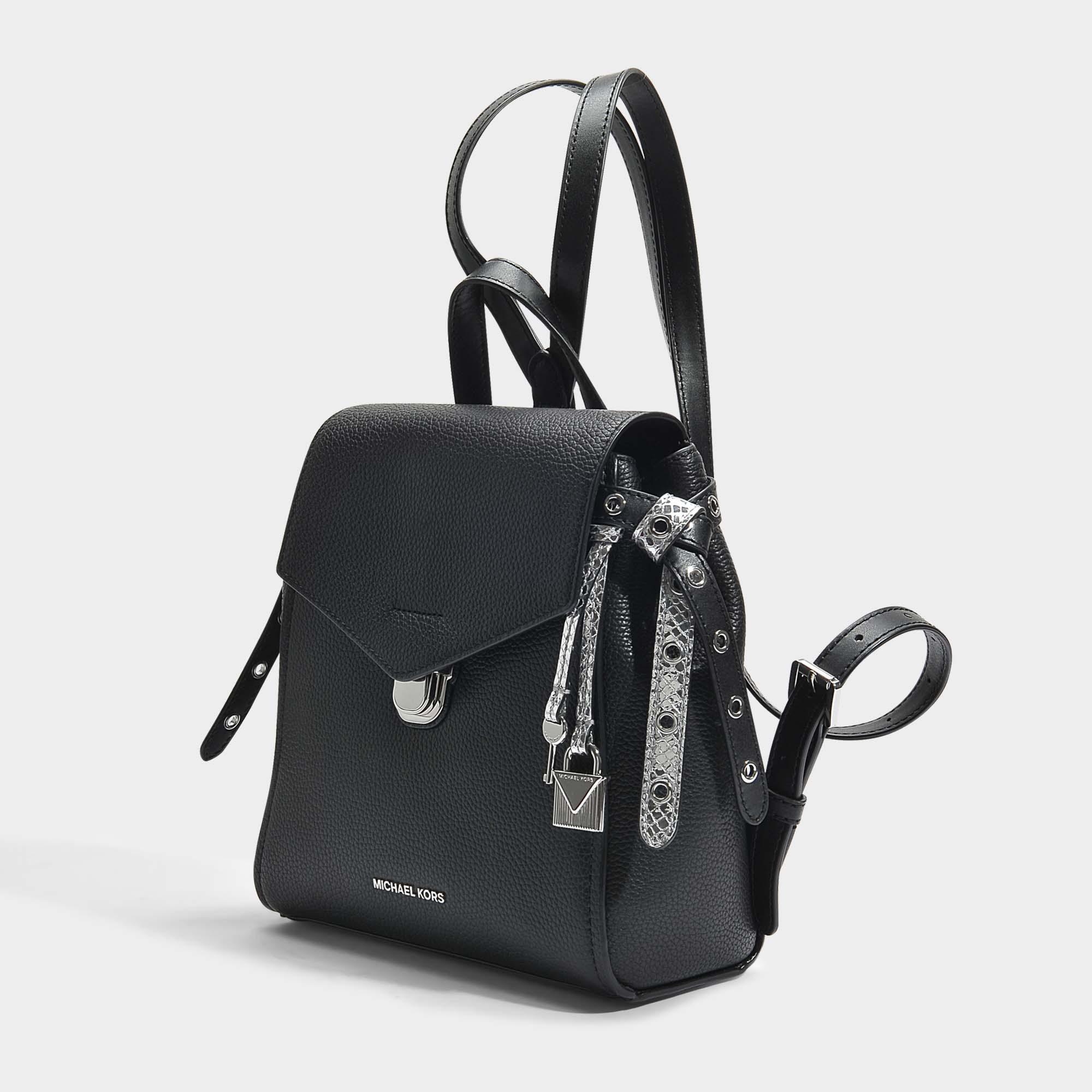 19e94e56d2a4 Bristol Small Leather Backpack Black- Fenix Toulouse Handball