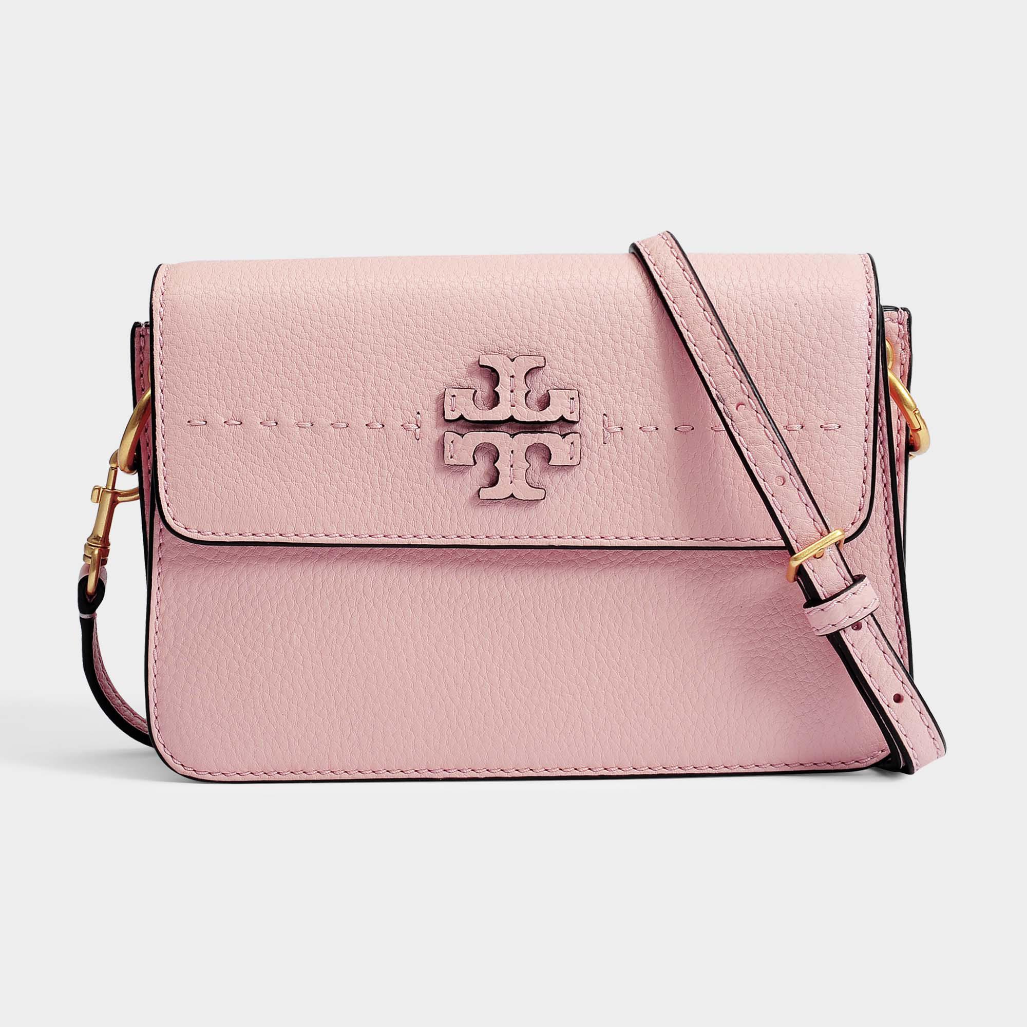 267e07605 Tory Burch Mcgraw Crossbody Bag in Pink - Lyst