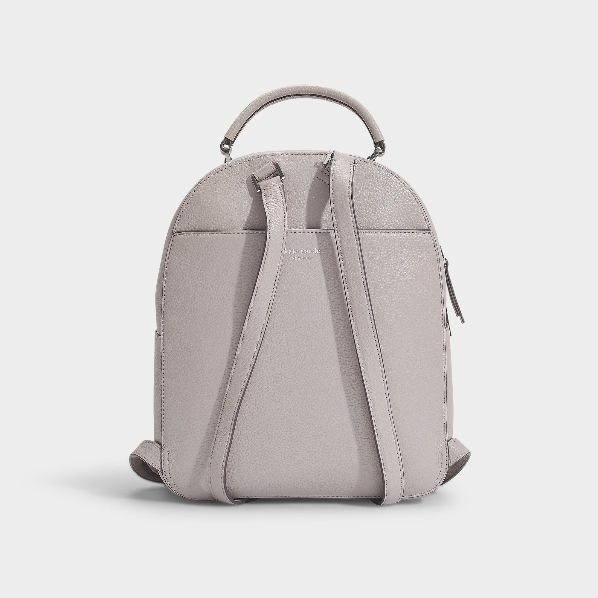 Taupe Sac Coloris À Neutre Polly Lyst Kate Dos Medium En Cuir Spade VUpqMSz