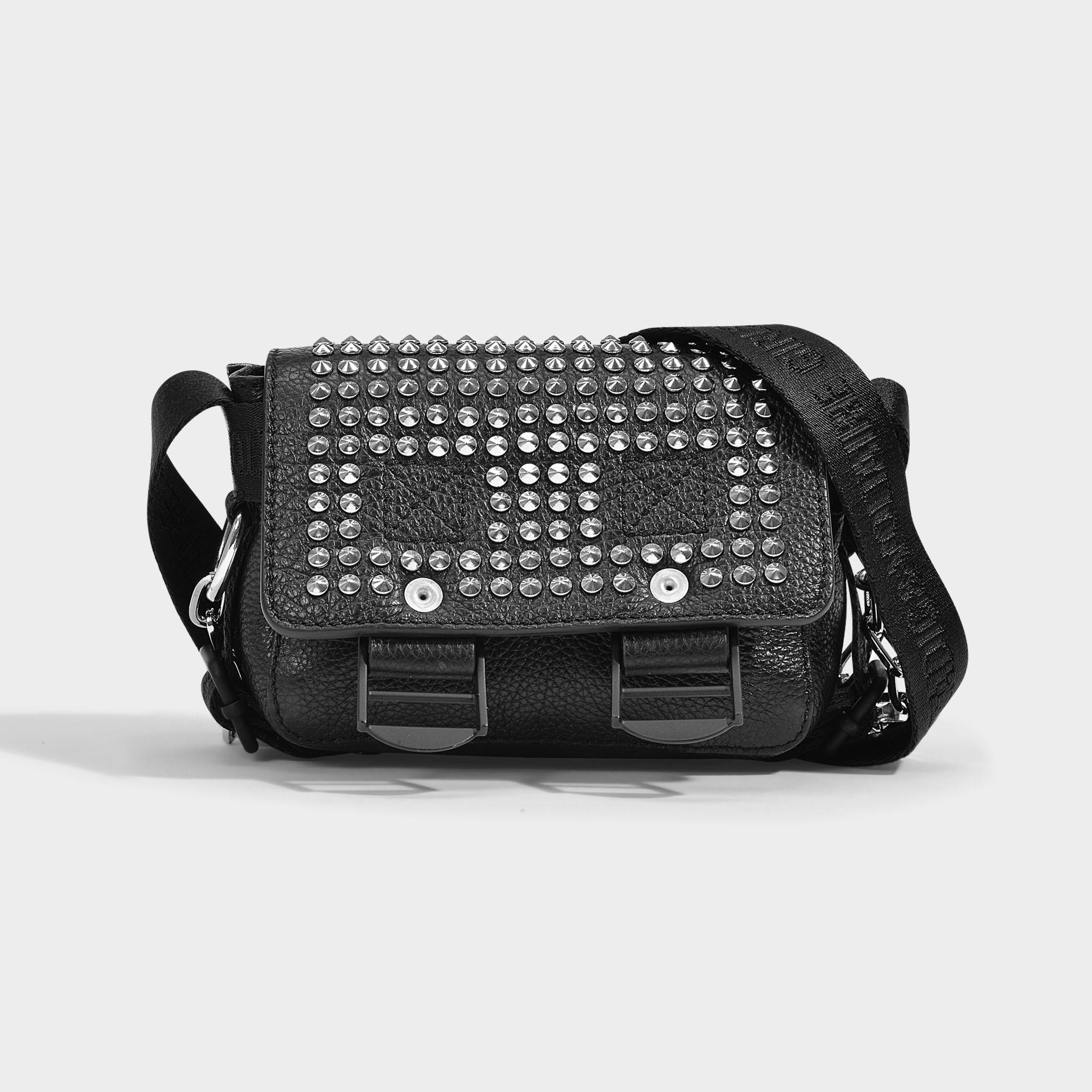 9e58739593 Black amp; In Nano Quilted Zadig Calf Leather Voltaire Readymade Bag SKwYyB