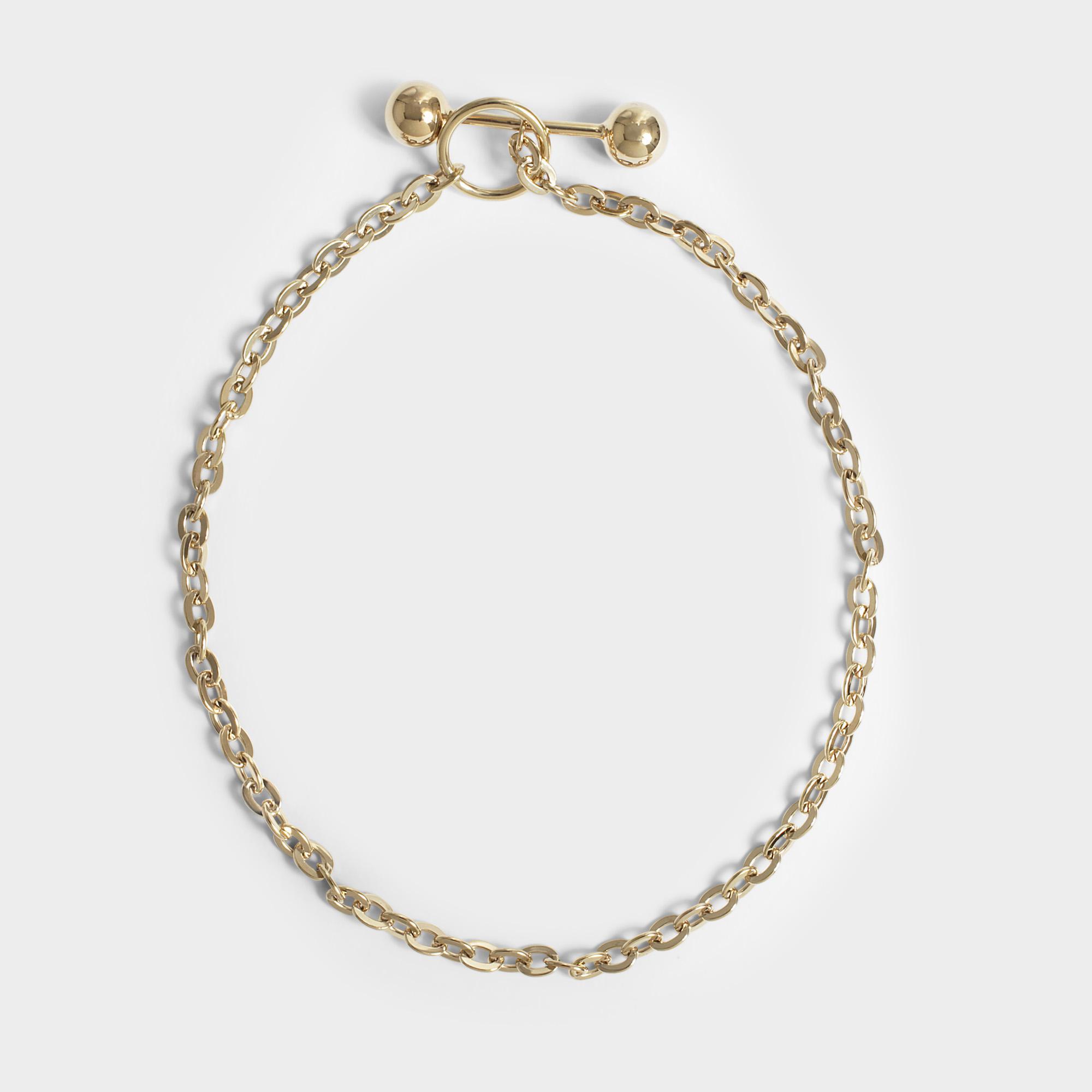 Barbelle Silver Choker Necklace in Silver Saskia Diez g88hp9v3