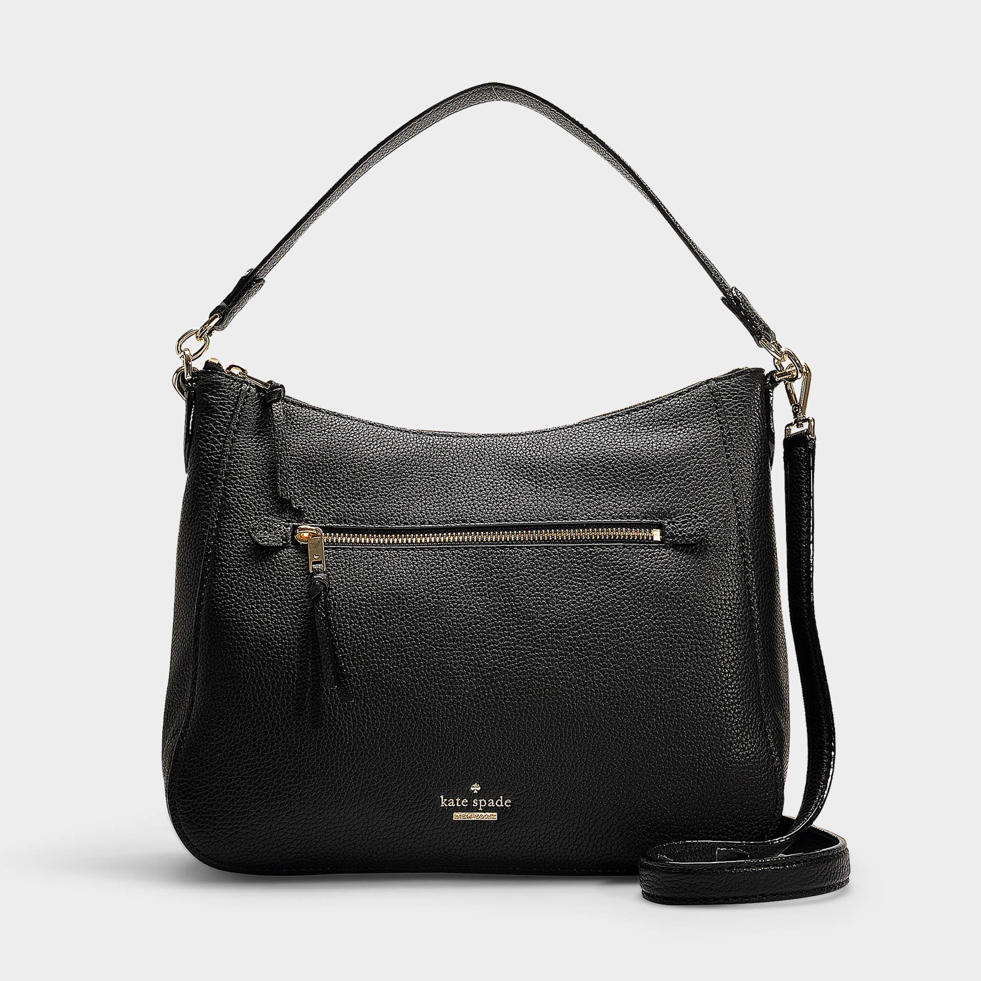 5733cfd3b9 Sac quincy jackson street en cuir noir Kate Spade en coloris Noir - Lyst