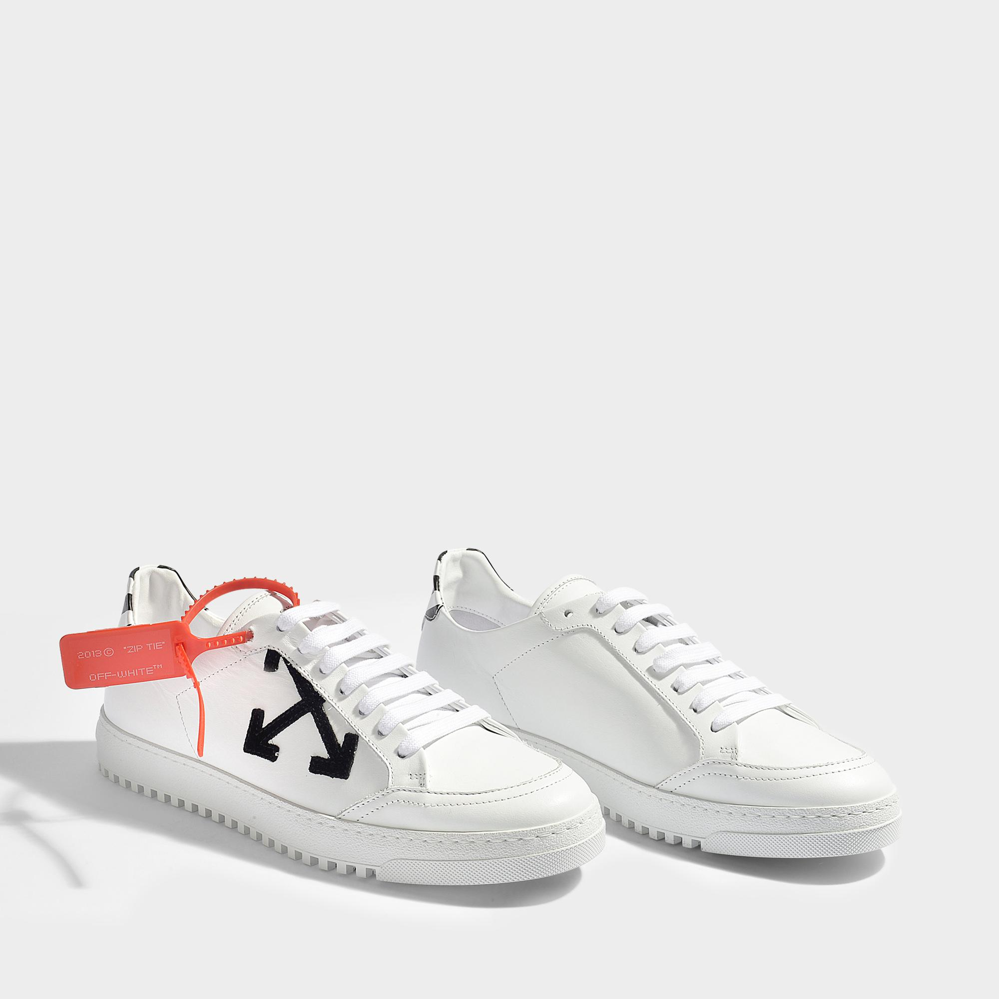 Classic Sneakers in White Nappa Leather Off-white OV71rZPhr