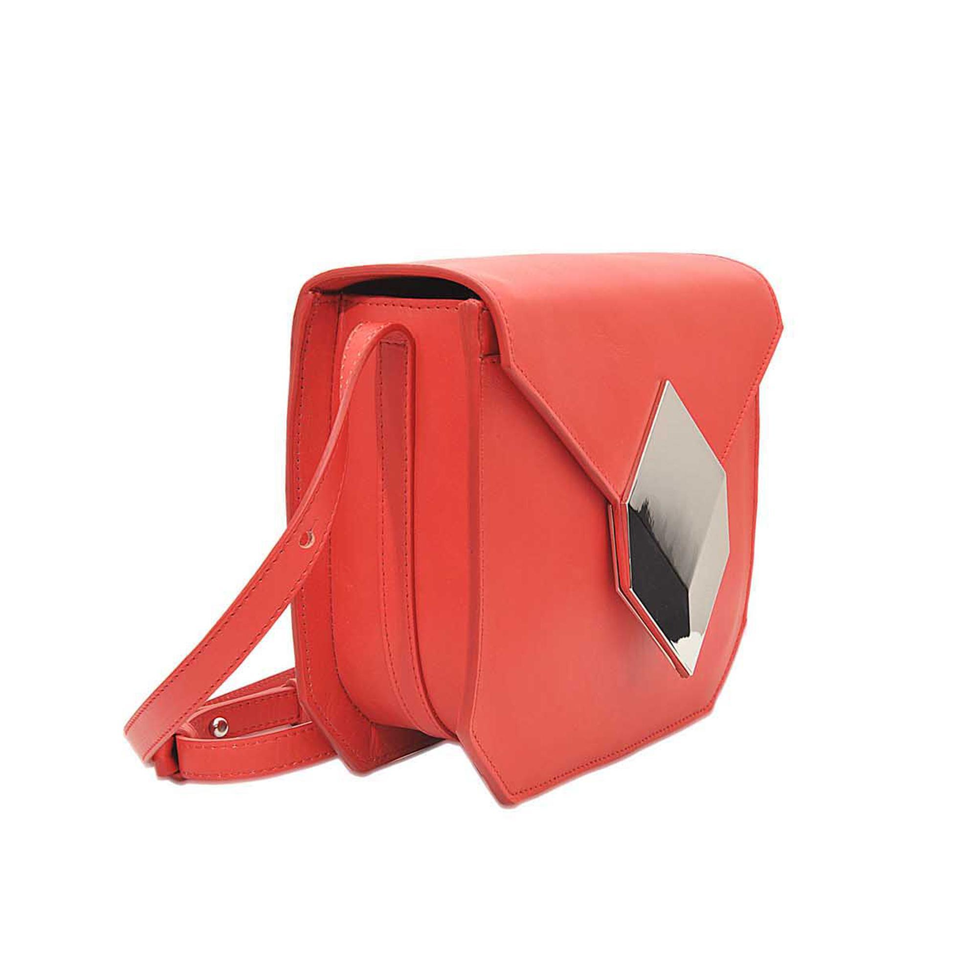Pierre Hardy Prism Crossbody Bag in Orange