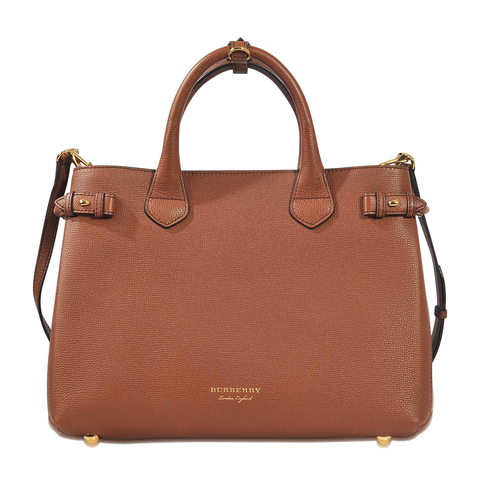 15bdff165bd5 Burberry Medium Banner Bag in Brown - Save 2%