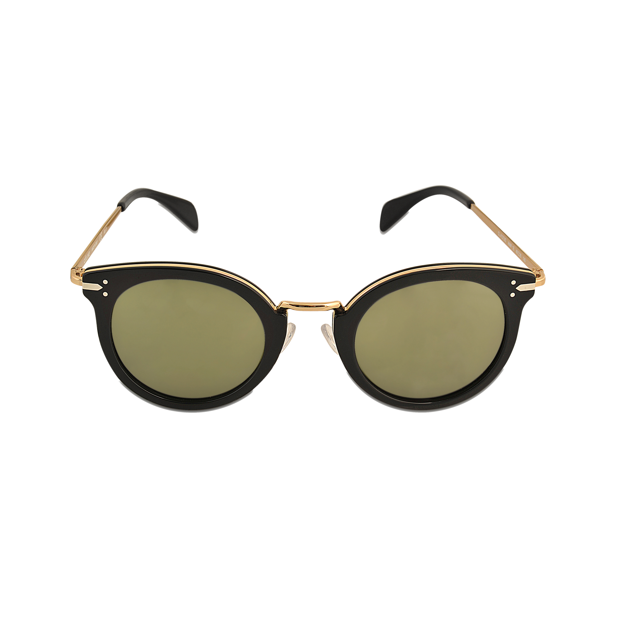 Celine Gold Frame Sunglasses : Celine Cl 41373/s Lea Sunglasses in Gold Lyst