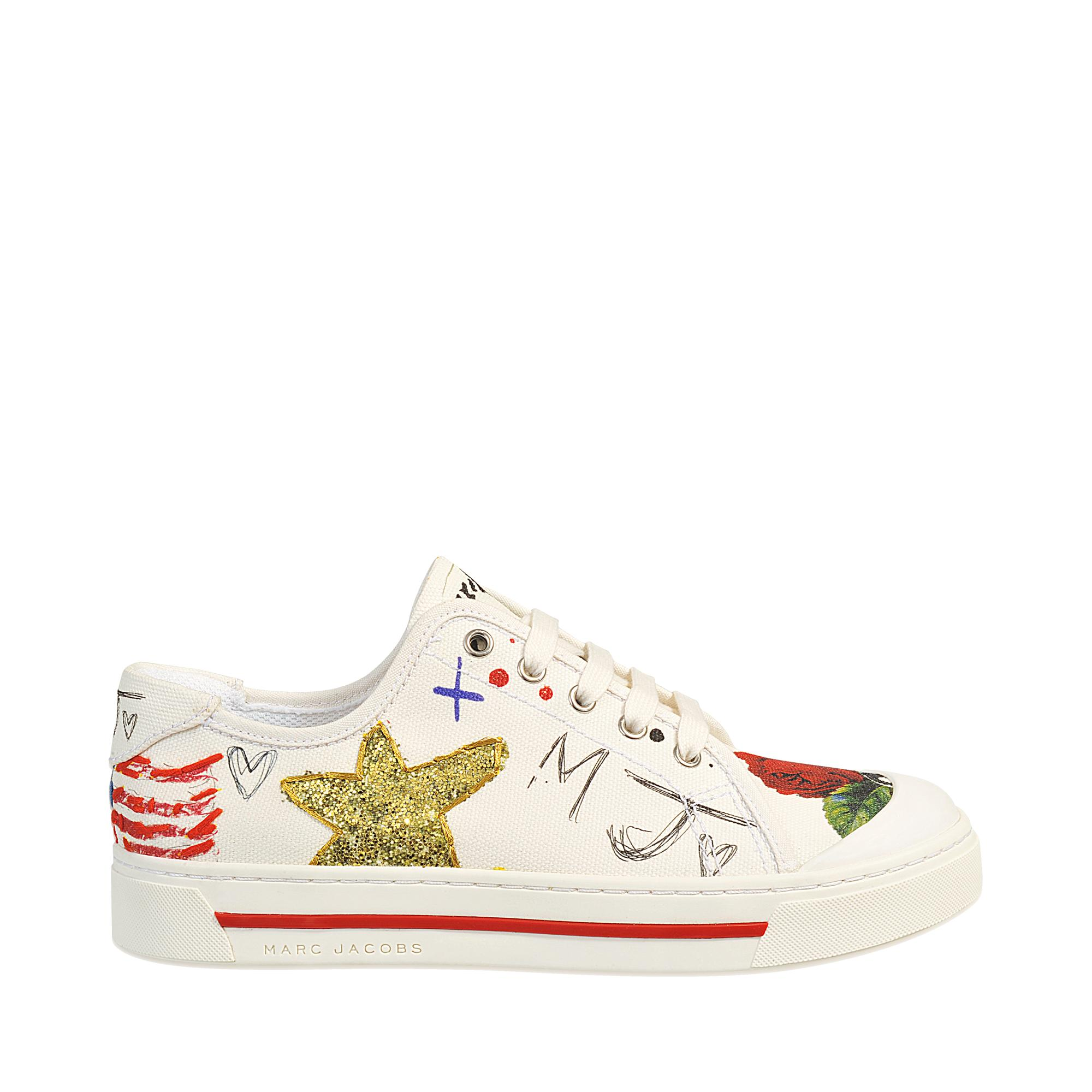 Marc Jacobs Collage Print Sneaker In Floral Save 50 Lyst