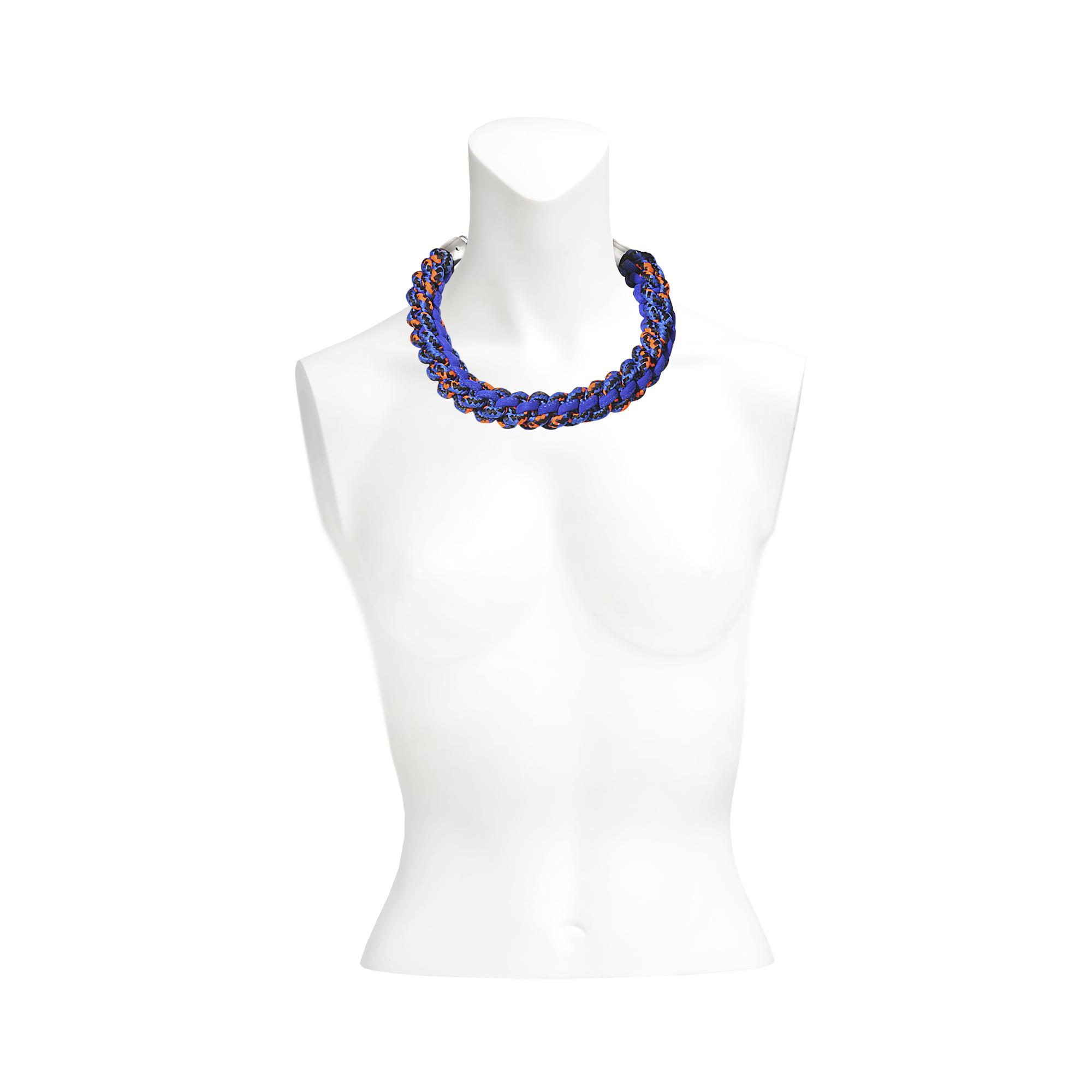DSquared² Sparkle Tech Necklace in Blue