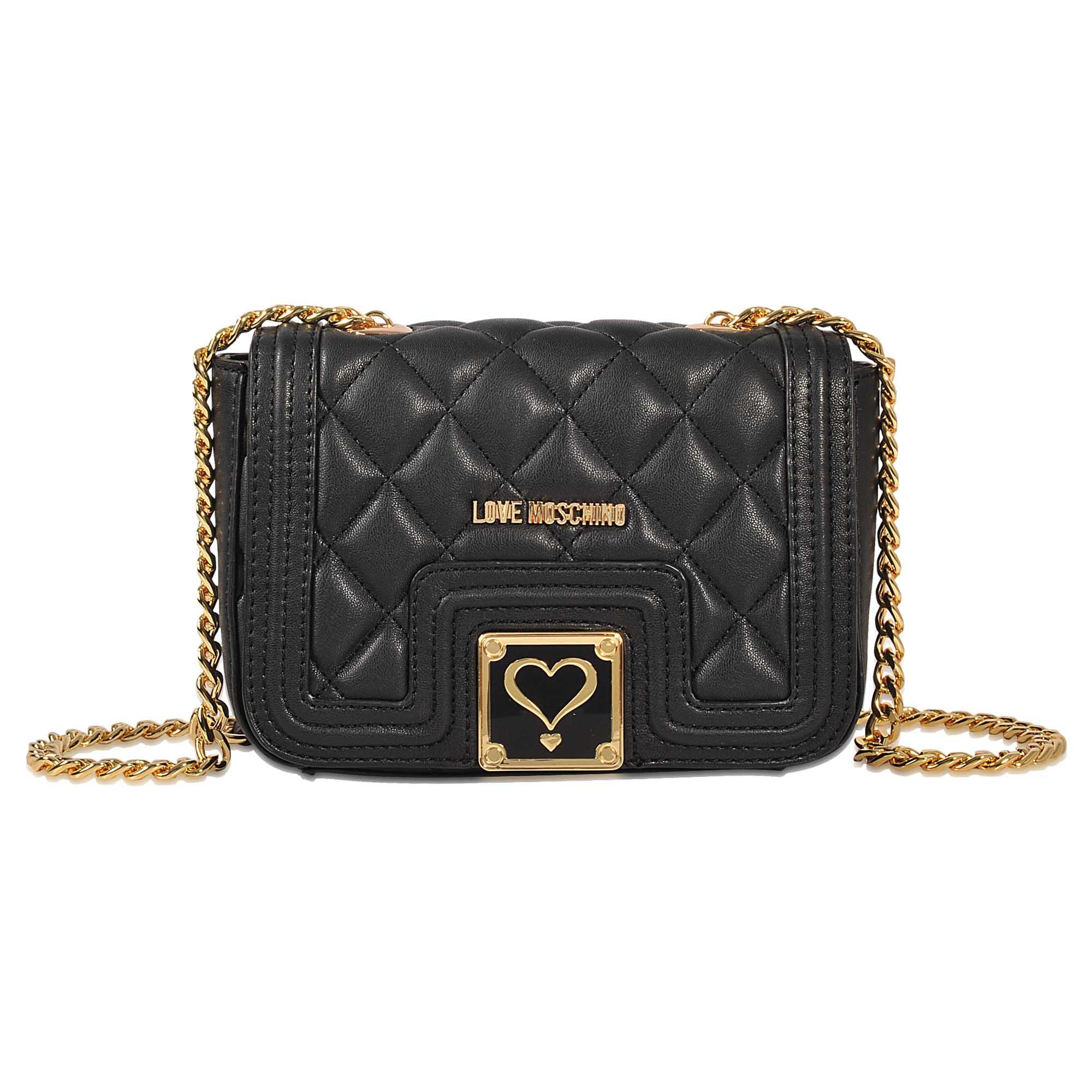 Love moschino Quilted Mini Flap Bag