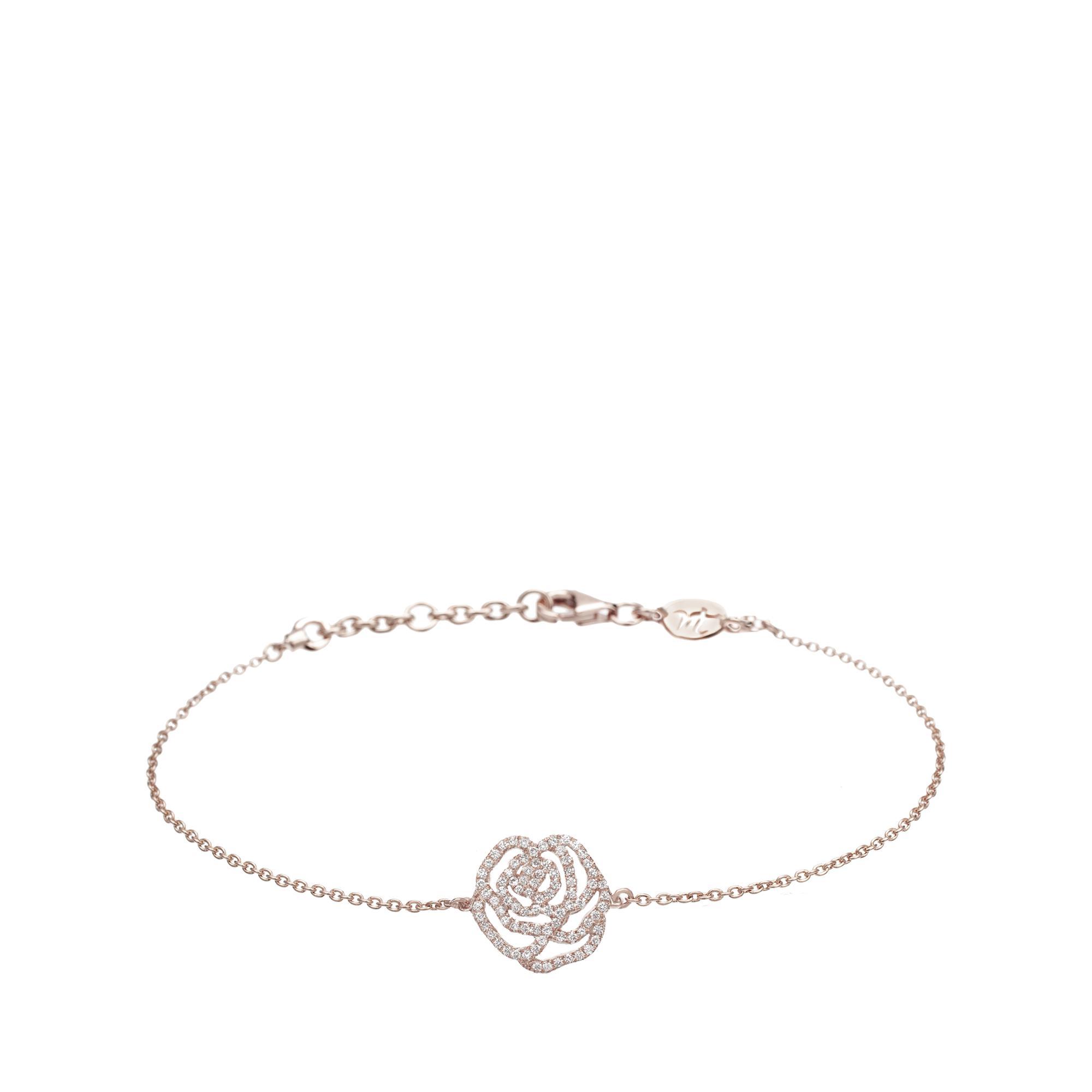 Vanessa Tugendhaft Yellow Gold and Diamond Round Charm Bracelet HgLcJyeU