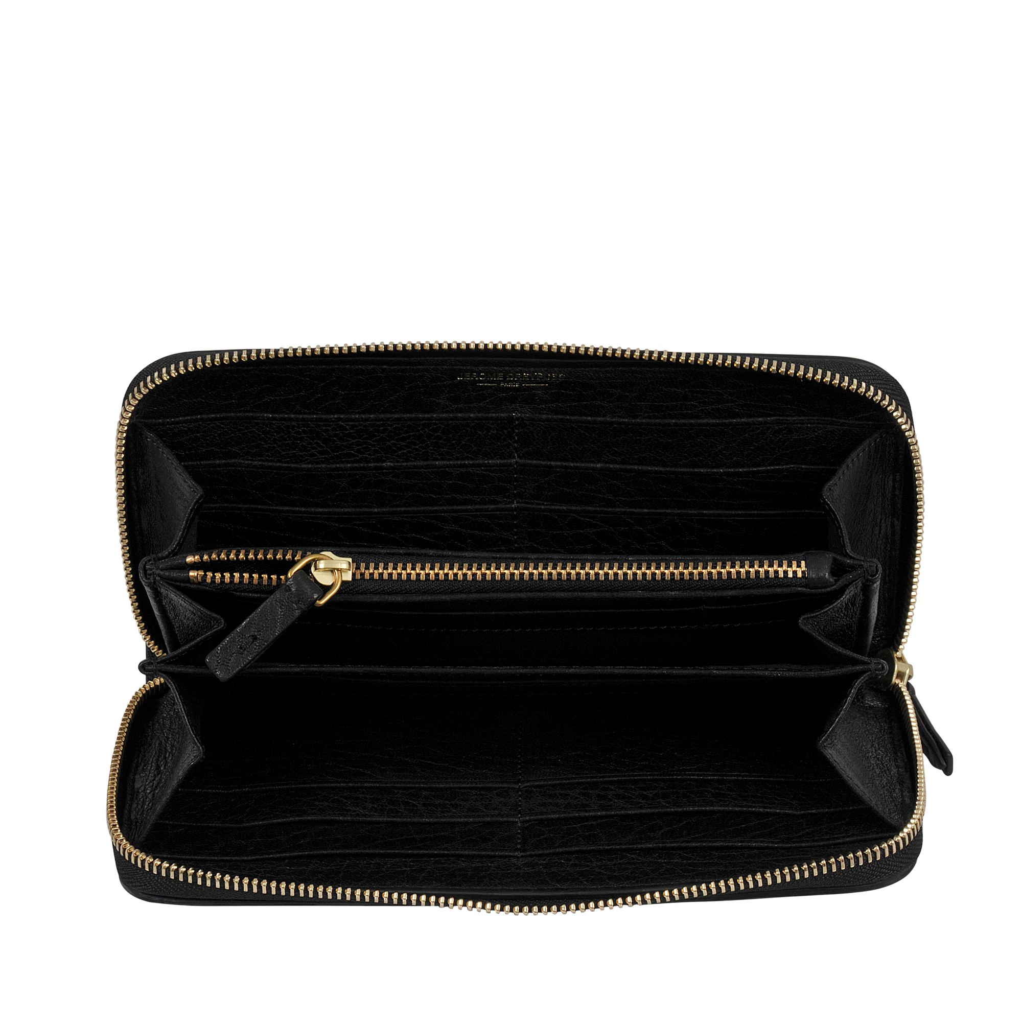 Malcolm continental zipped wallet Jerome Dreyfuss mdGVQ