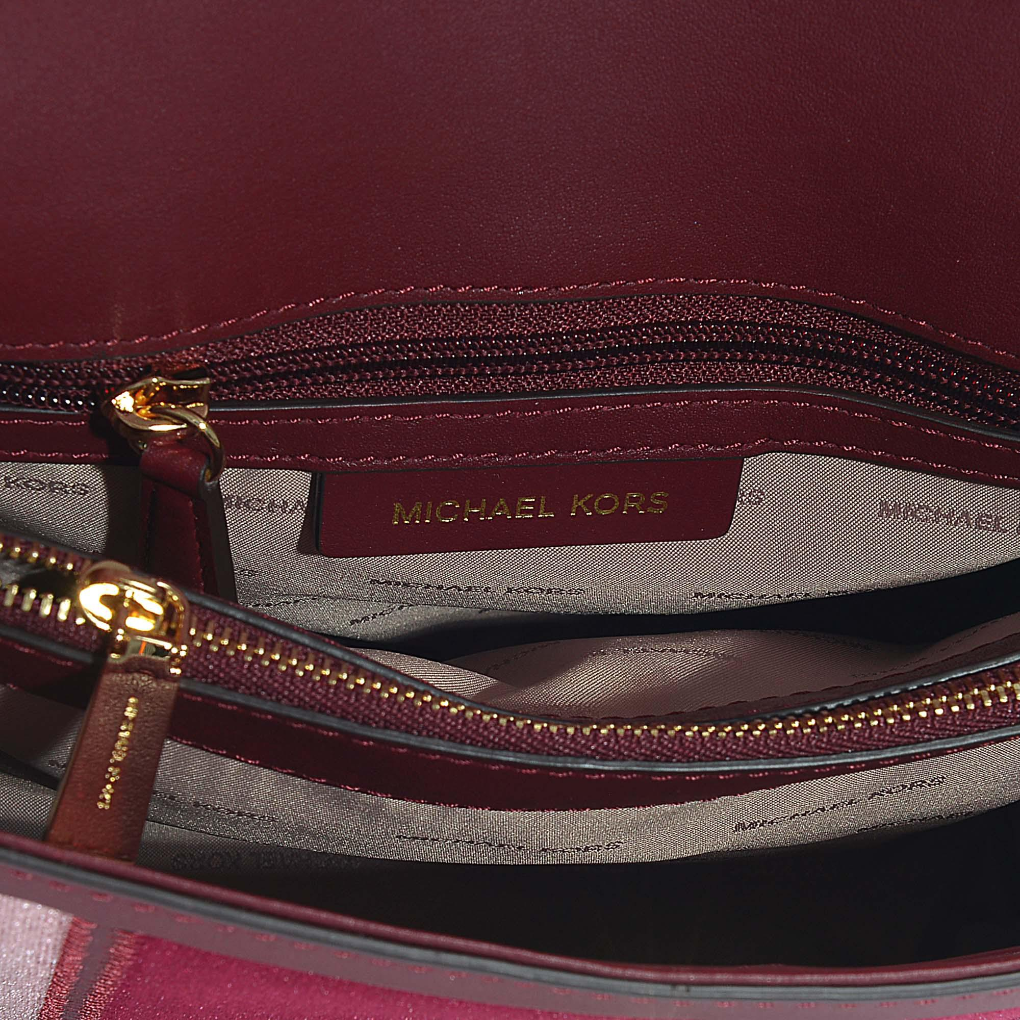 ab5a7d7ec7ca Michael Kors Maroon Velvet Backpack – Patmo Technologies Limited