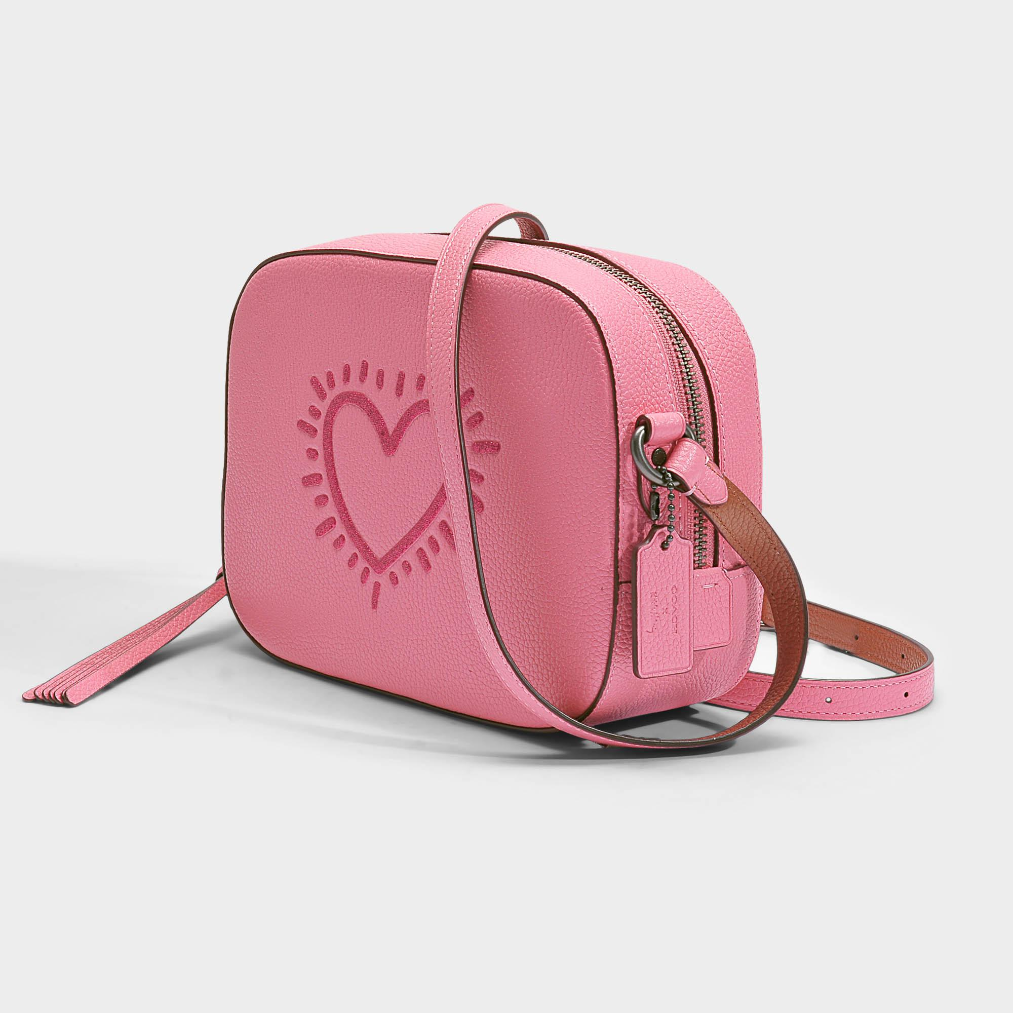 c9414c773b3c Bright Pink Leather Backpack- Fenix Toulouse Handball