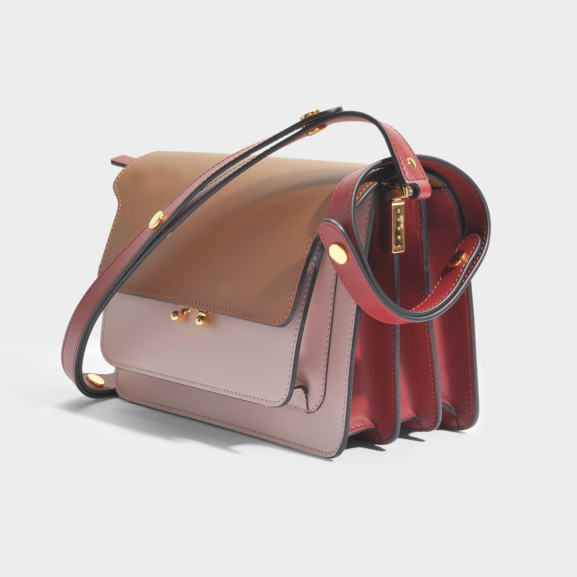 Medium Trunk shoulder bag - Brown Marni YwG4m