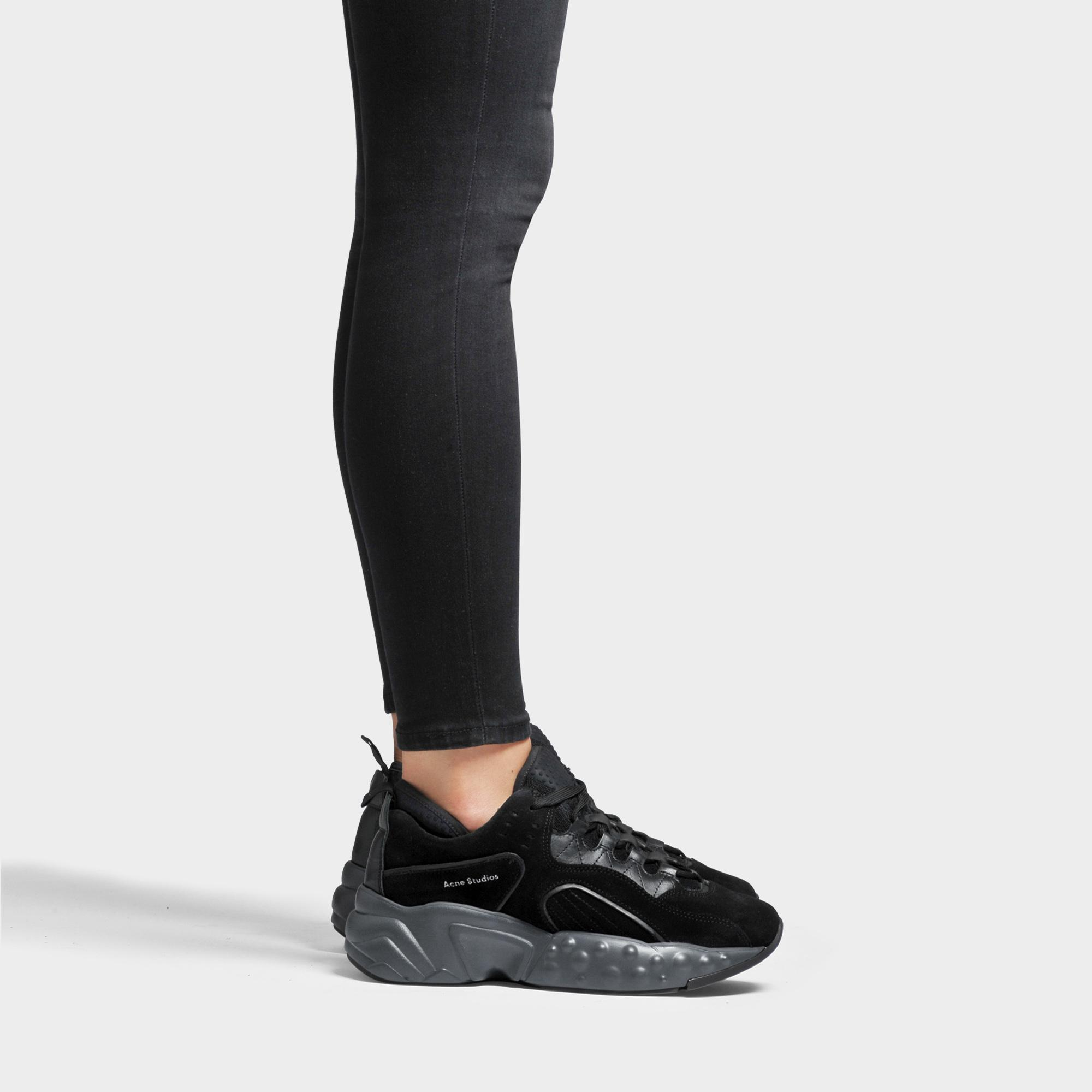 Acne Studios Suede Manhattan Sneakers