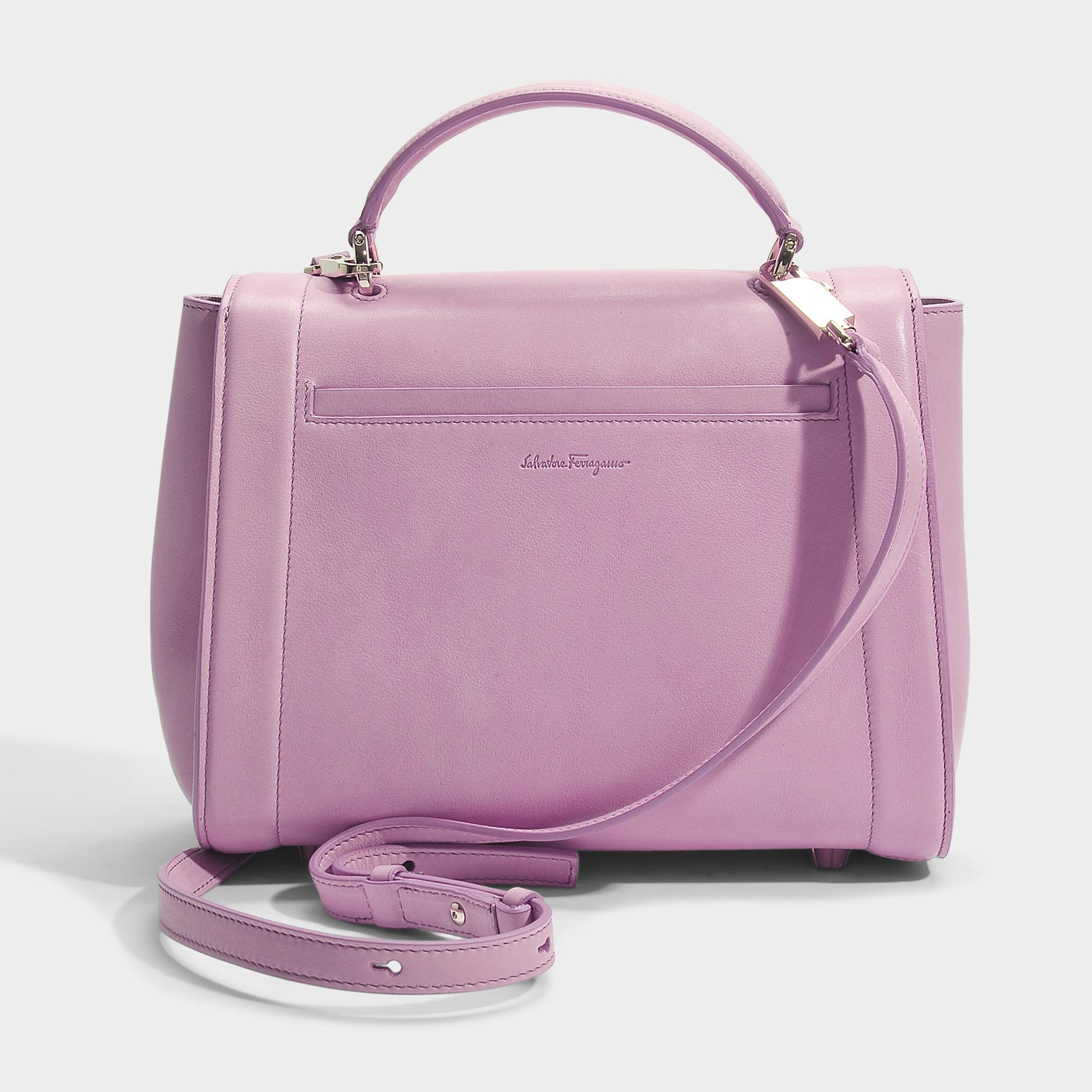 69a0b8a332 Lyst - Ferragamo Sofia Rainbow Small Bag in Pink
