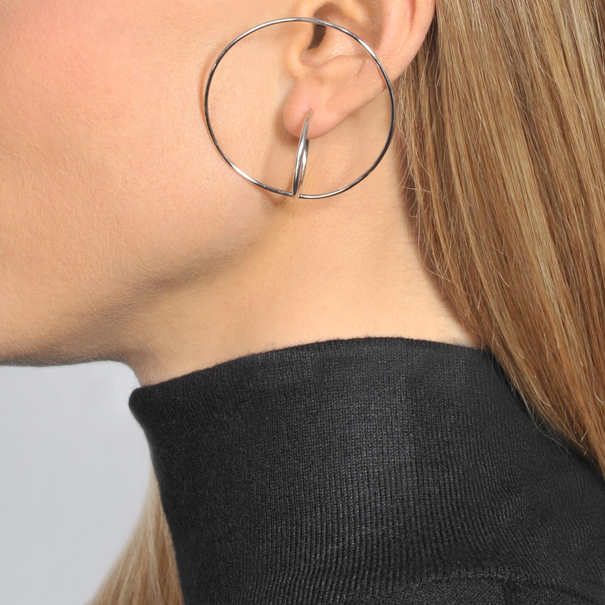 Saturn large earrings Charlotte Chesnais oM4sEOA1