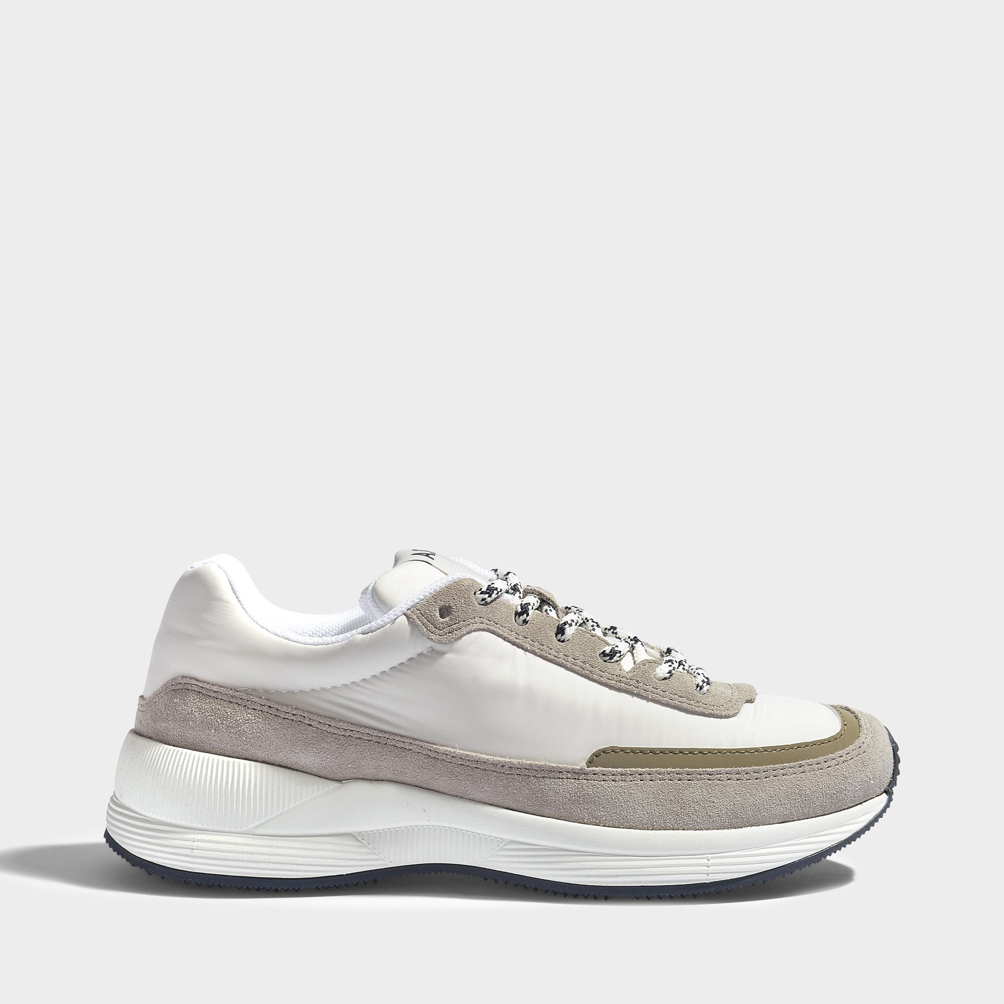 Les Femmes Chaussures De Course En Apc En Nylon Polyester Blanc NVd31MGKd