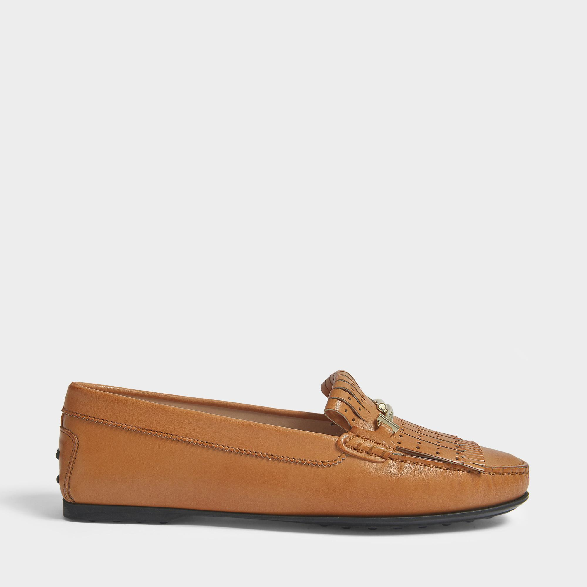 With City Loafers Fringe in Tod'S Gommino Brown Lyst qIwSnTUxn