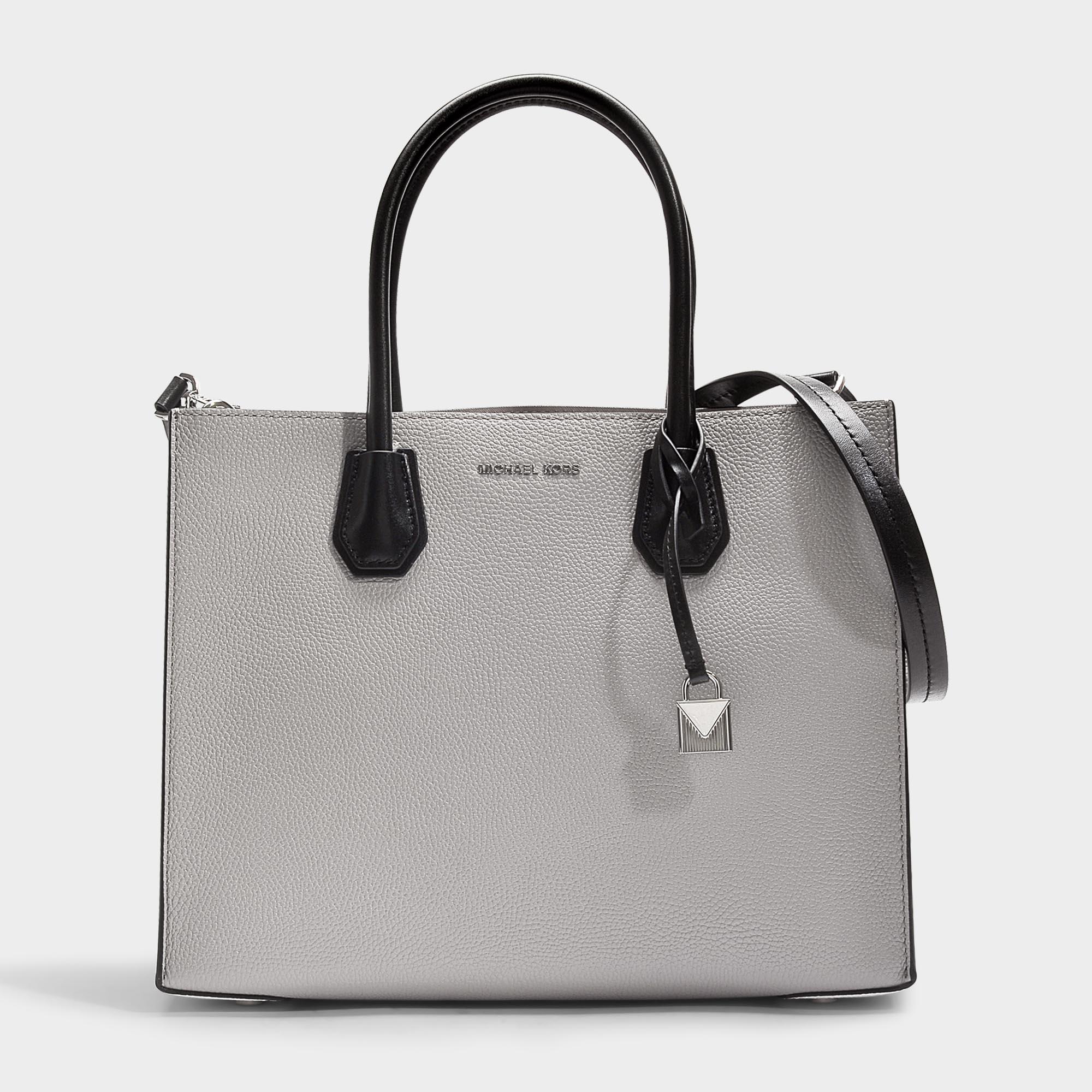 648235adb7e5 MICHAEL Michael Kors Mercer Large Convertible Tote Bag In Pearl Grey ...
