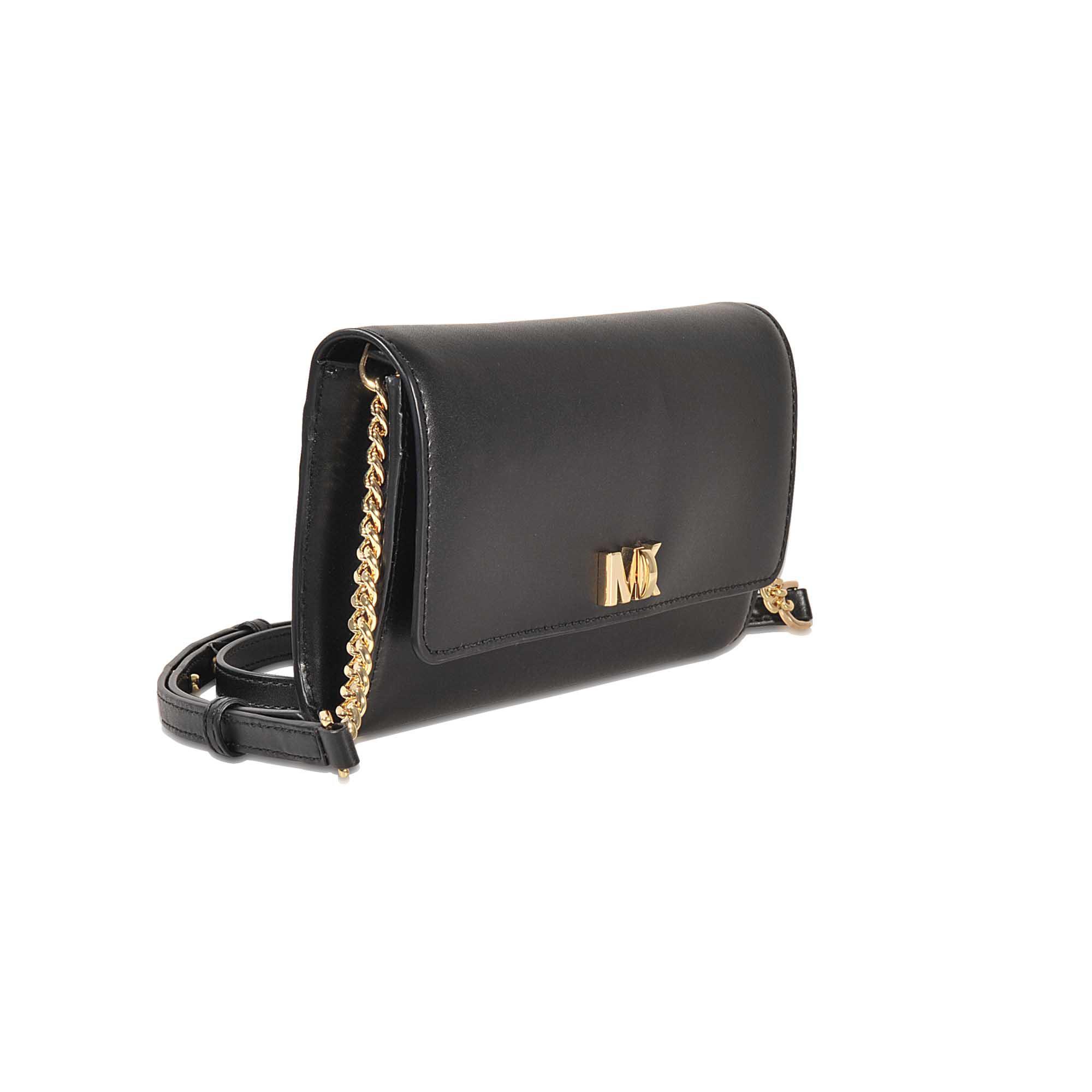 9bfb5264a2dcd Lyst - MICHAEL Michael Kors Mott Xl Wallet Clutch in Black