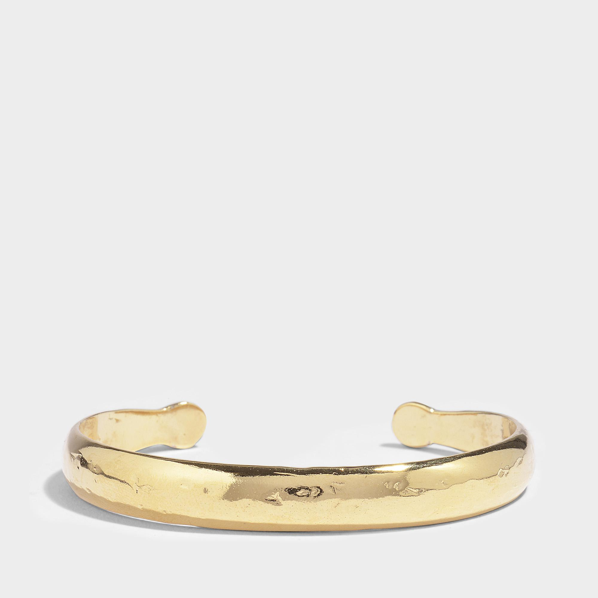 Aurélie Bidermann Maria Bracelet With Green Enamel in Green Enamel and 18K Gold-Plated Brass 1FpWy0t