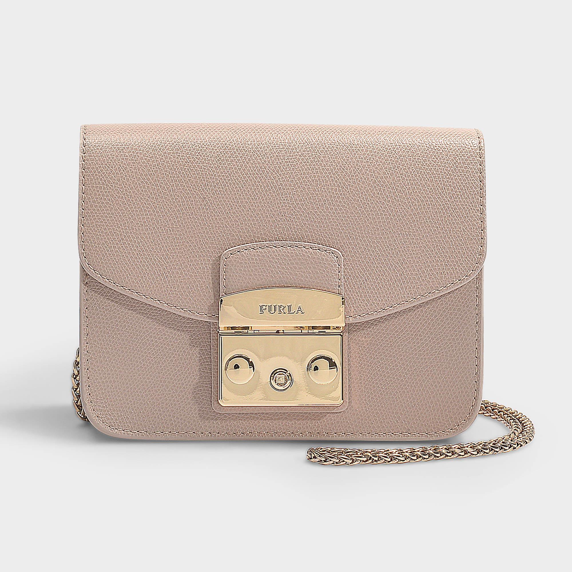FURLA METROPOLIS TALCO h (WHITE) | Womens Mini Bags ⋆