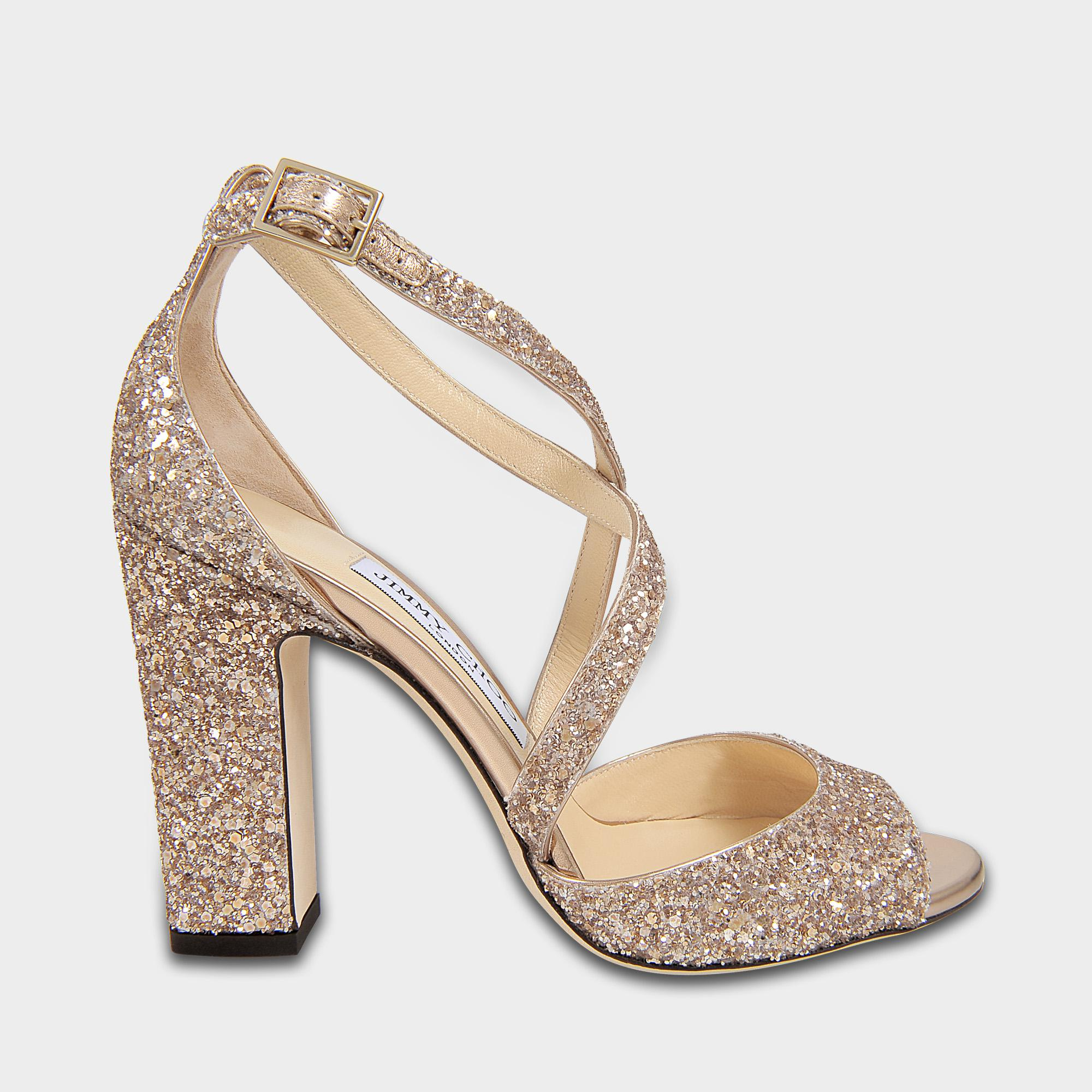 871817977846 Lyst - Jimmy Choo Carrie 100 Cross Front Sandals In Ballet Pink ...