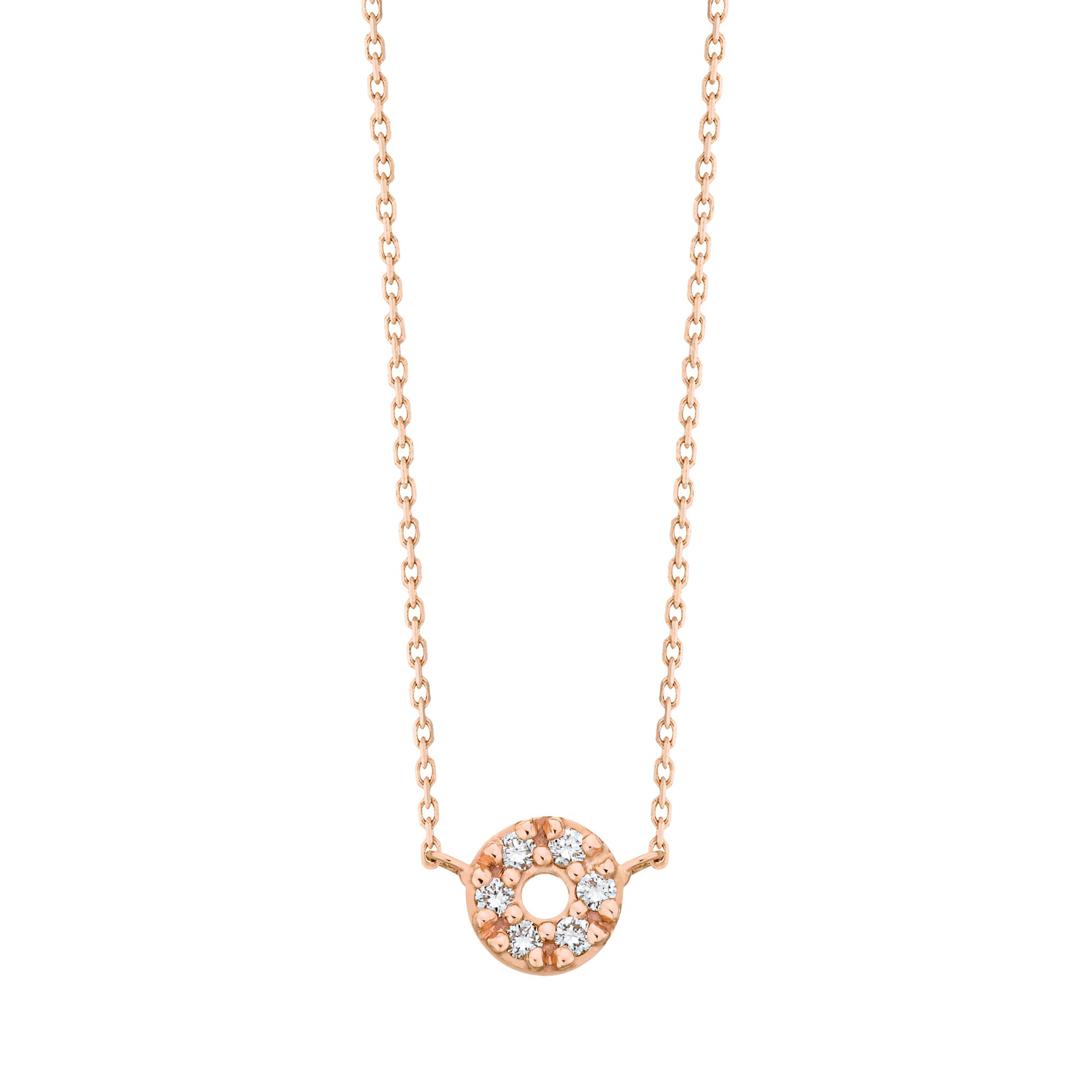 Exclusive - necklace Im In Love 750 gold and diamonds Vanrycke MPzPFGTF6