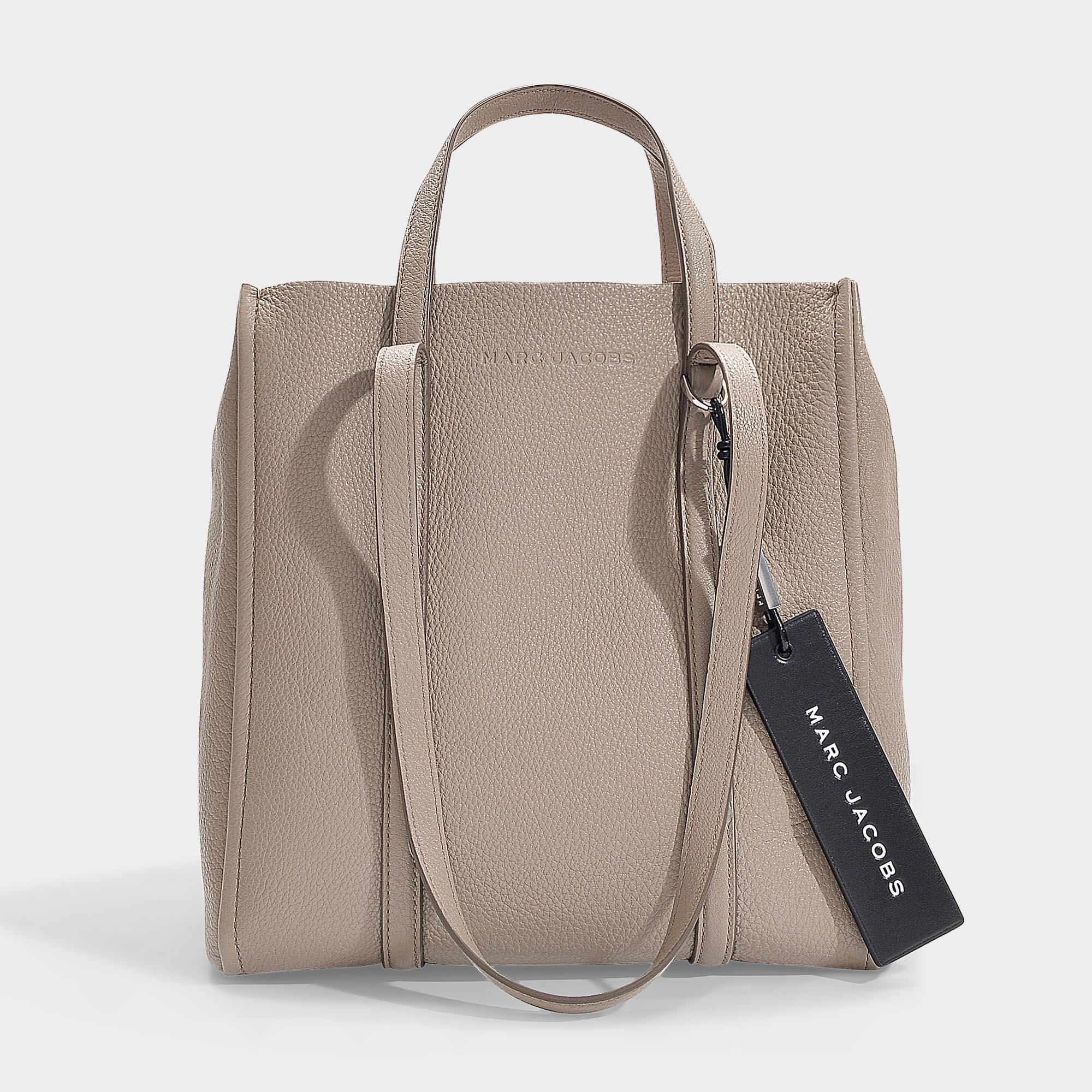 The Tag 27 Coated Leather Tote