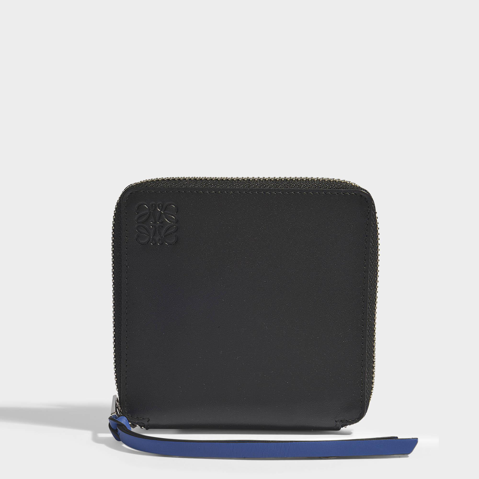 Rainbow Bifold/Coin Wallet in Black and Multicolour Soft Calfskin Loewe VKrrDNj
