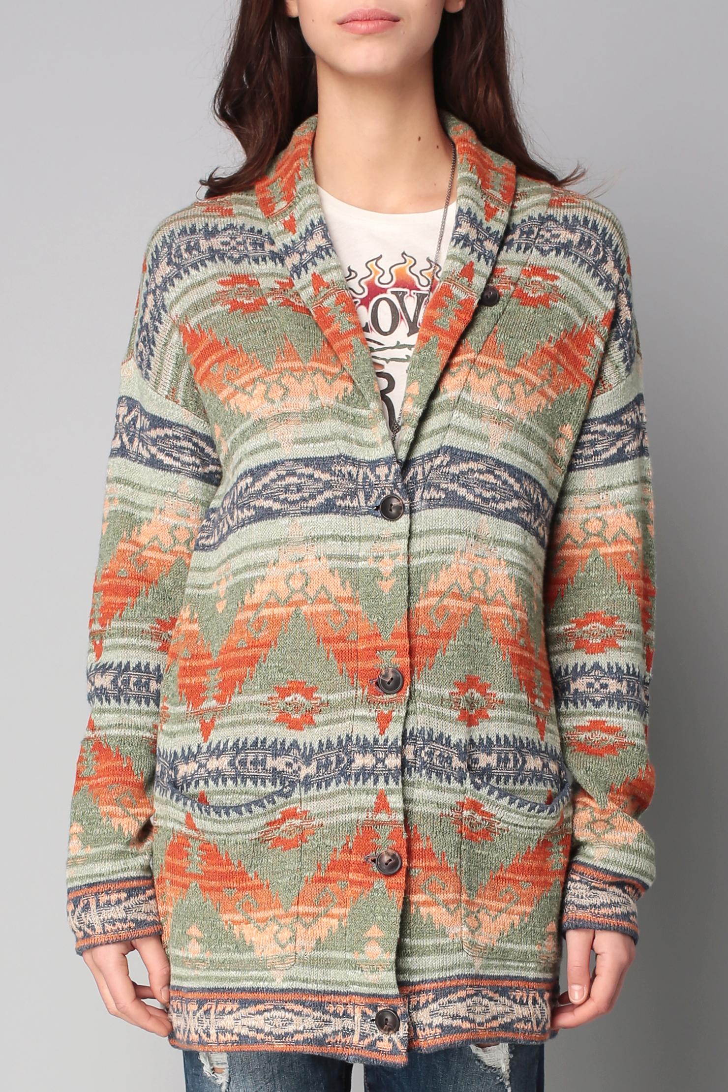 V Neck Cardigan Sweater