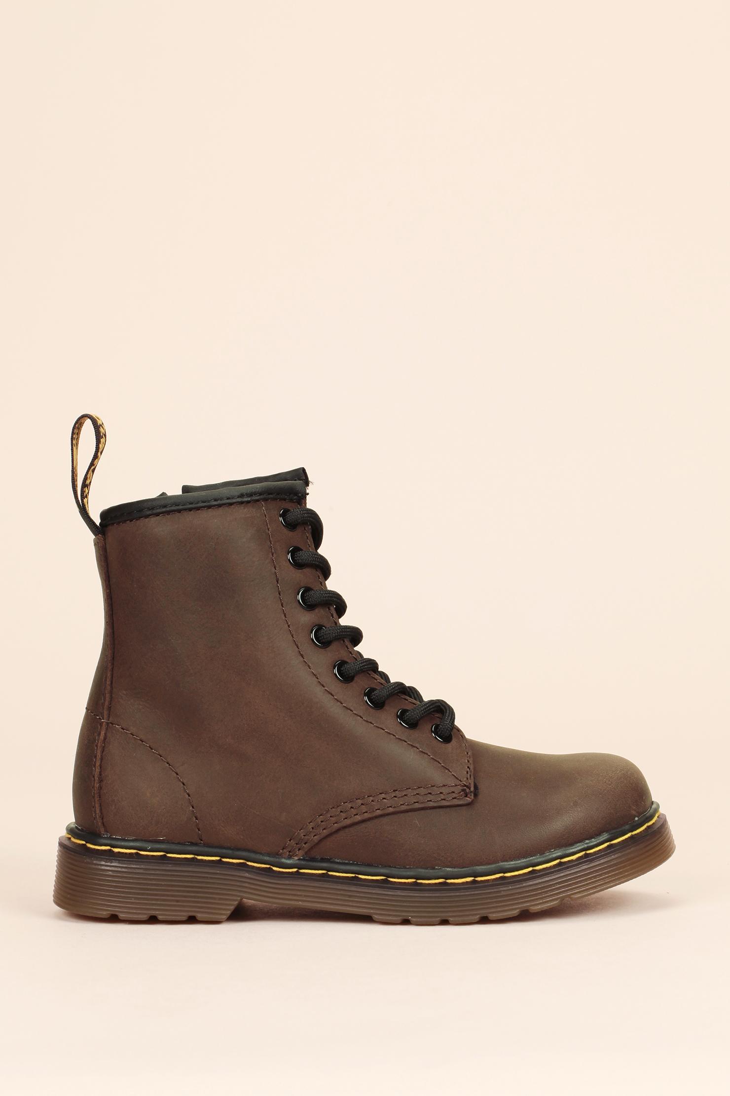 dr martens boots in brown lyst. Black Bedroom Furniture Sets. Home Design Ideas