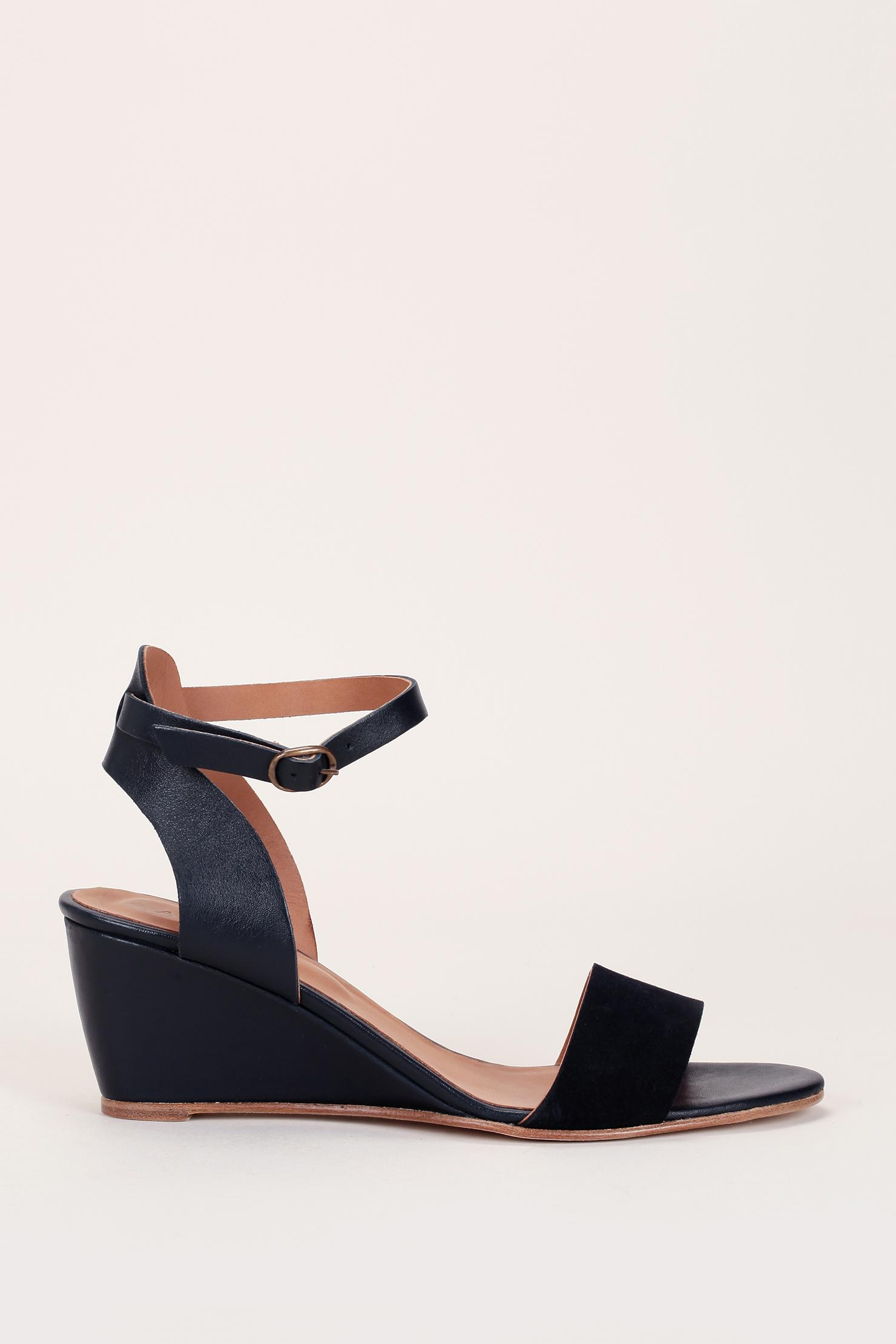 Lyst Anthology Wedges In Blue