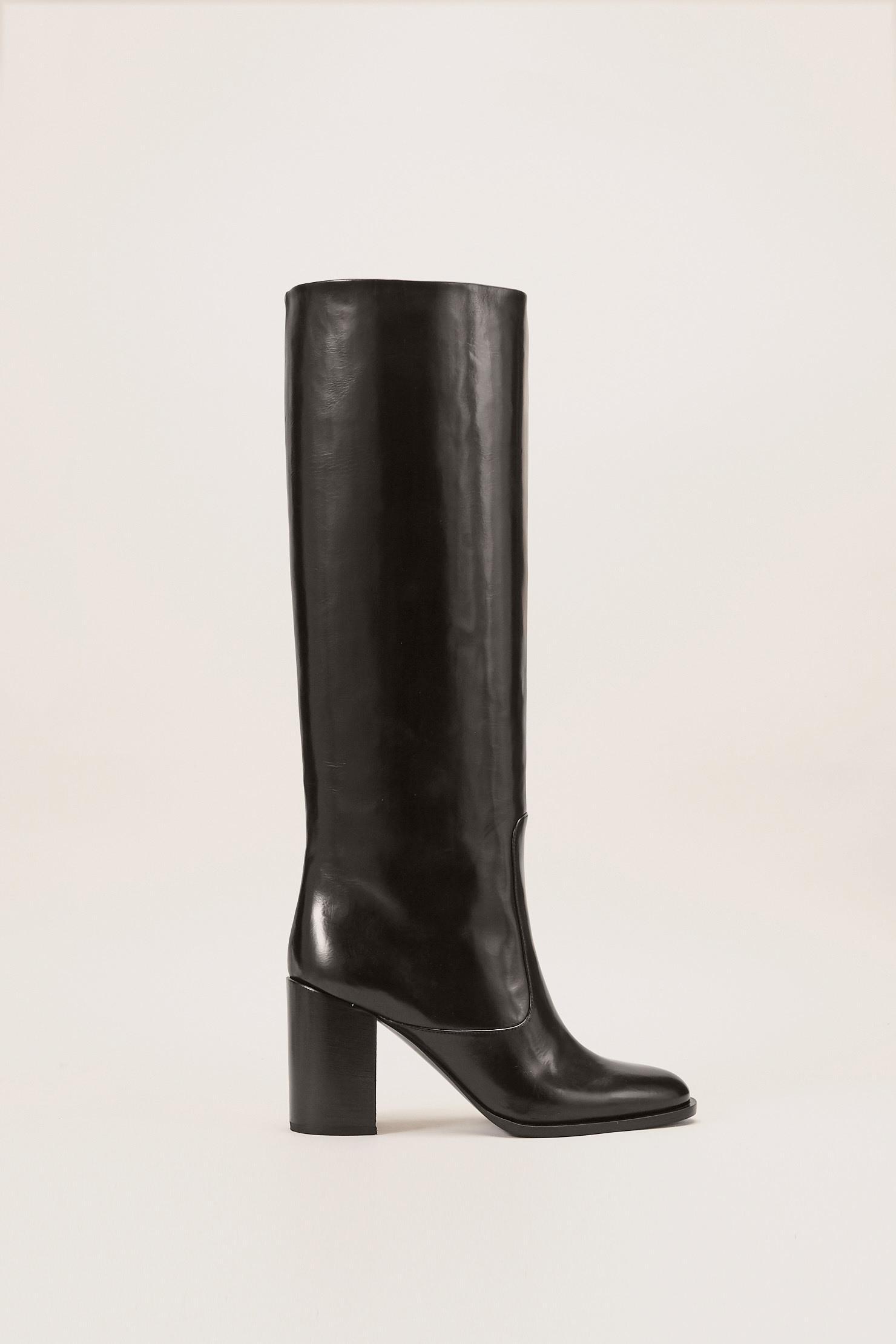 Veronique Branquinho Leather Boots KkLUsa6lI