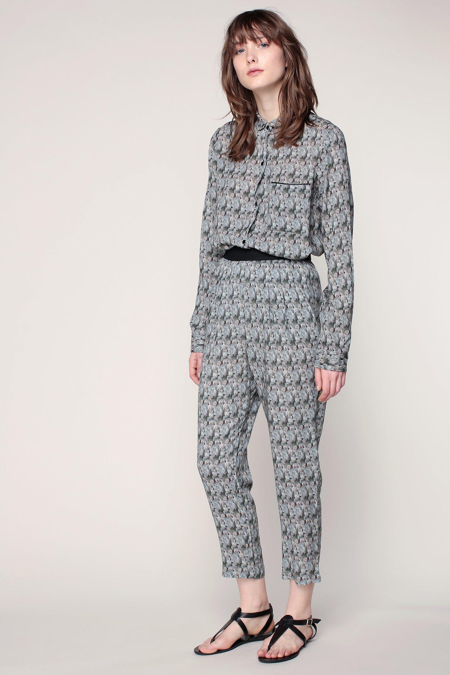 TROUSERS - Casual trousers MAISON OLGA Cheap Newest Discount Very Cheap Footlocker Cheap Price Cheap Big Sale Sunshine owGNqH5DLW