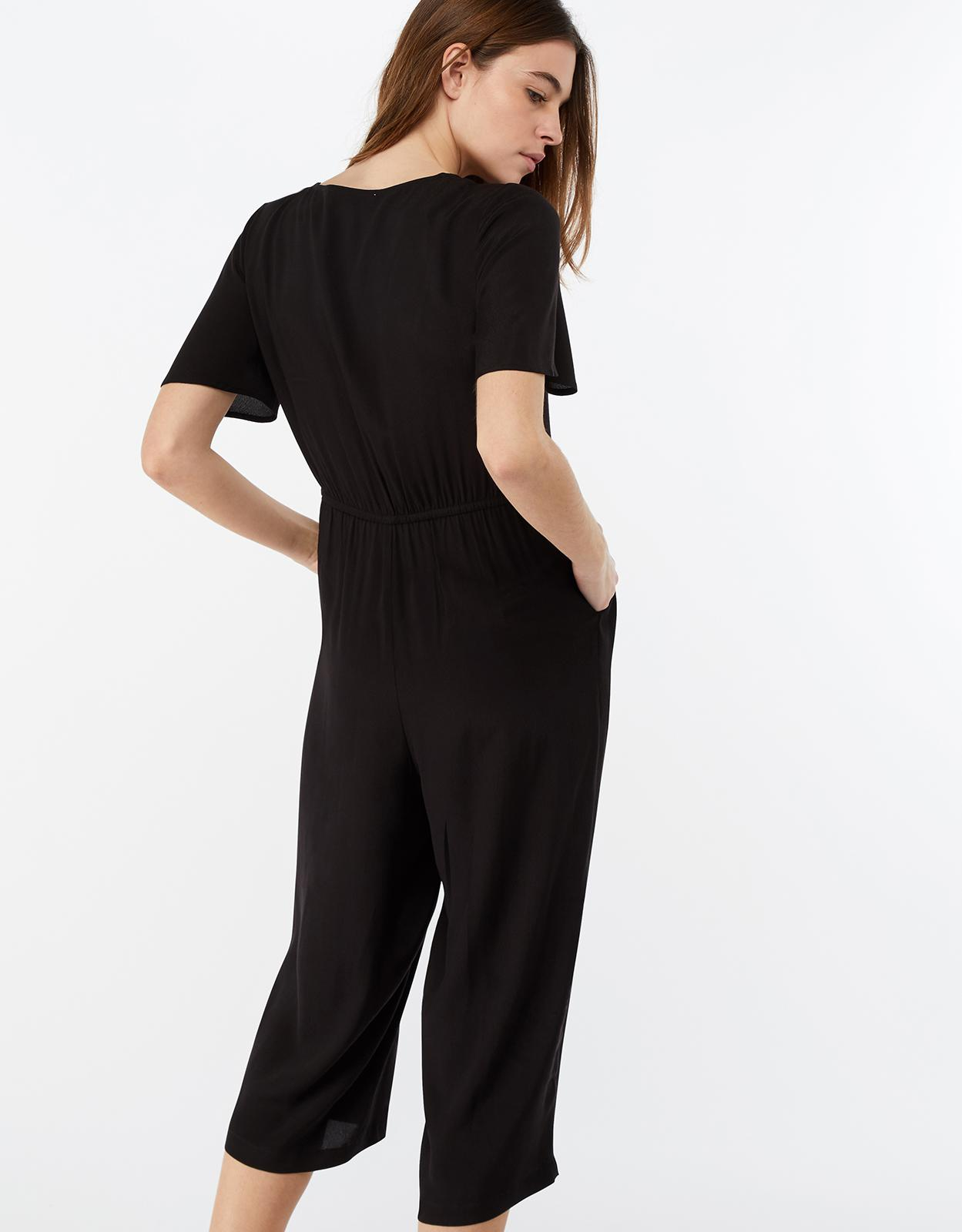 253f1a0a4883 Monsoon Josie Jumpsuit in Black - Lyst