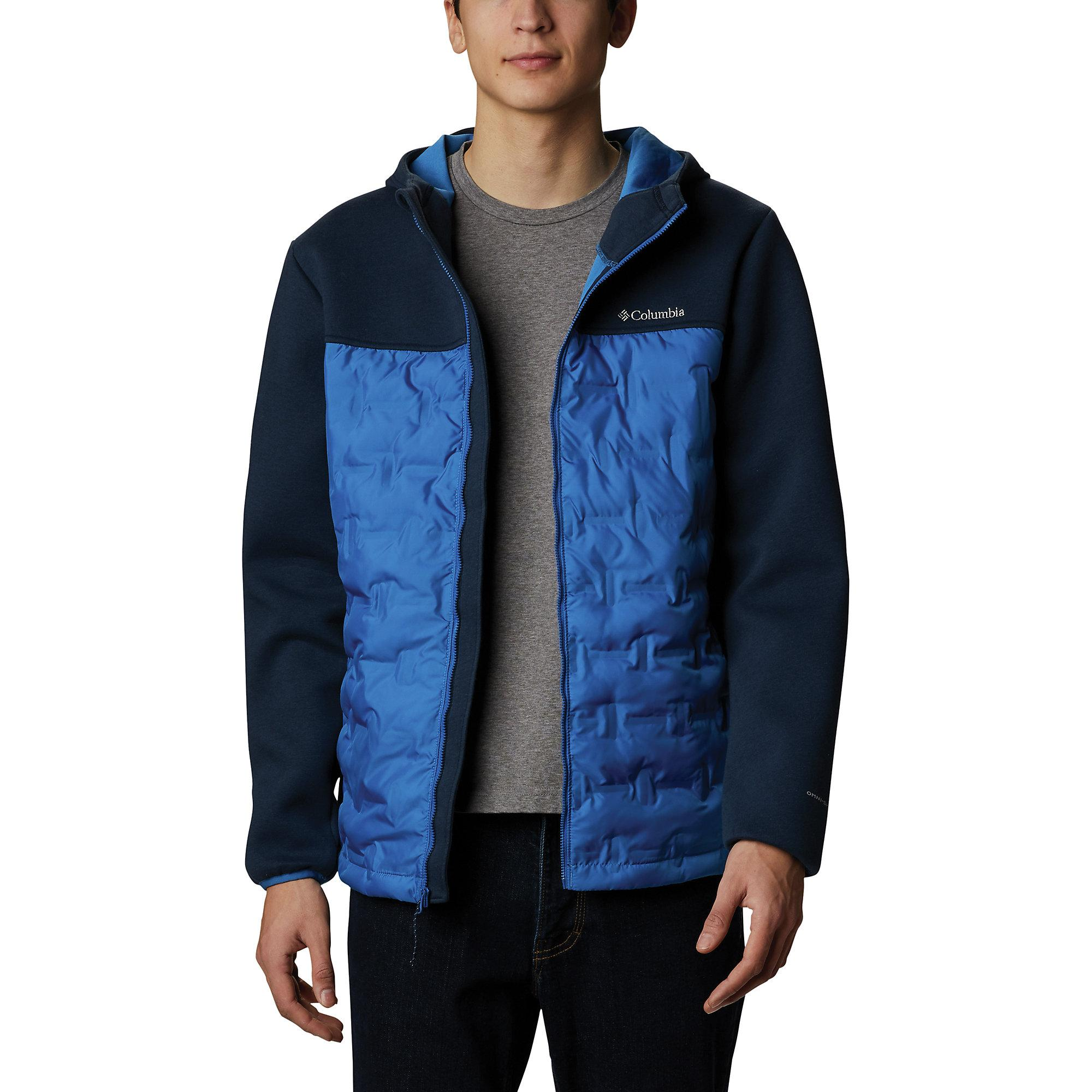 Columbia Synthetic Tech Trail Hybrid Hoodie in Bright ...
