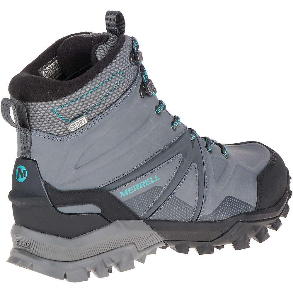 Mid Waterproof Women 6 Charcoal Grey Merrell Capra Glacial Ice